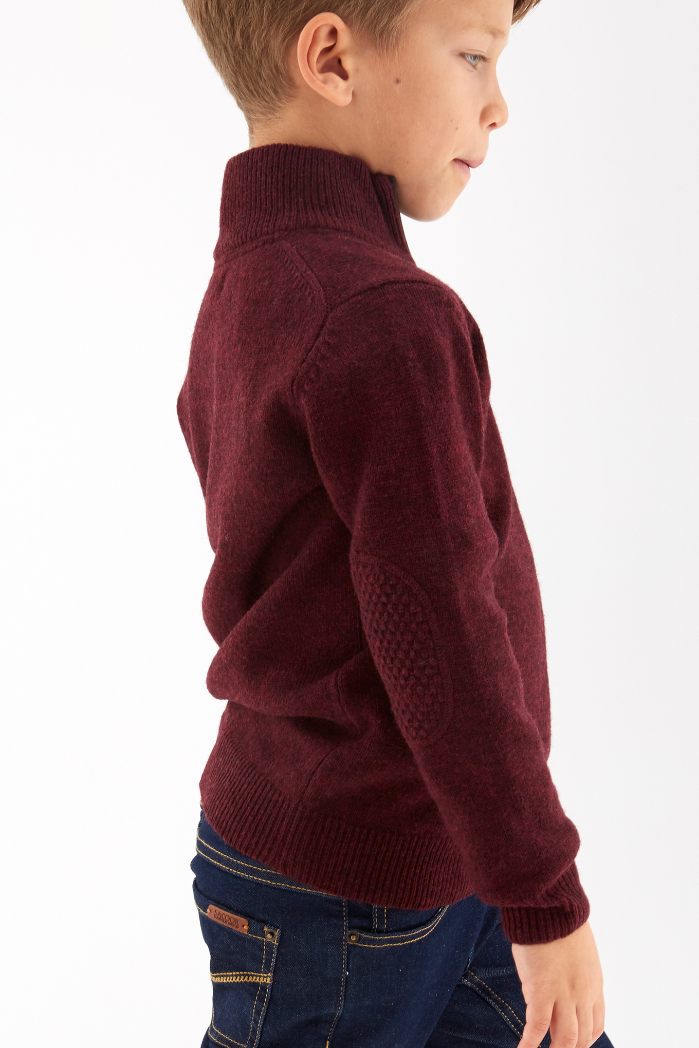 Sweater Bordeaux Sport Boy