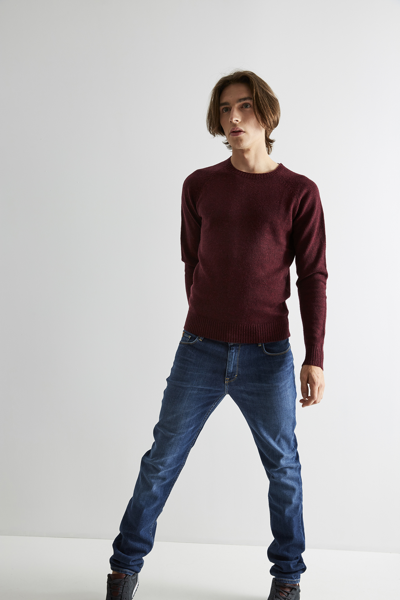 Sweater Bordeaux Classic Man