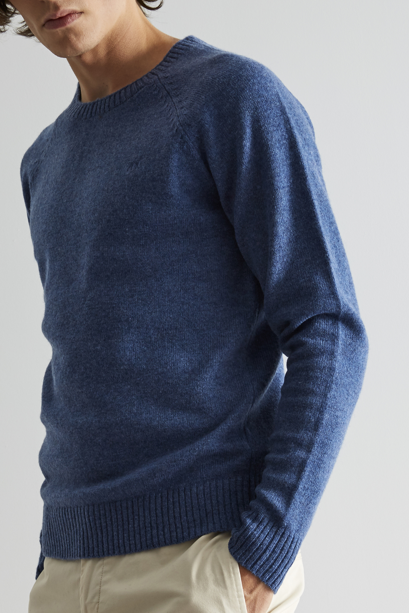 Sweater Blue Classic Man