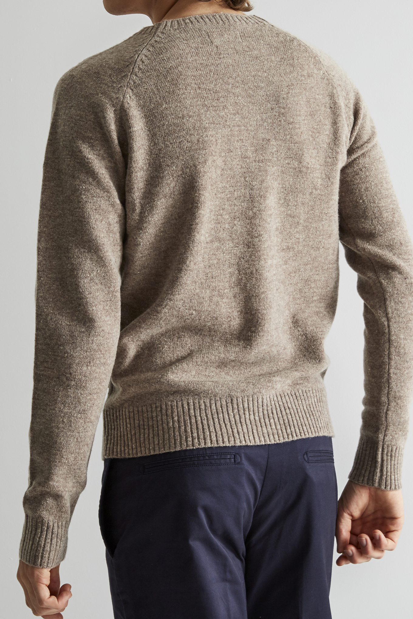 Sweater Dark Beige Classic Man