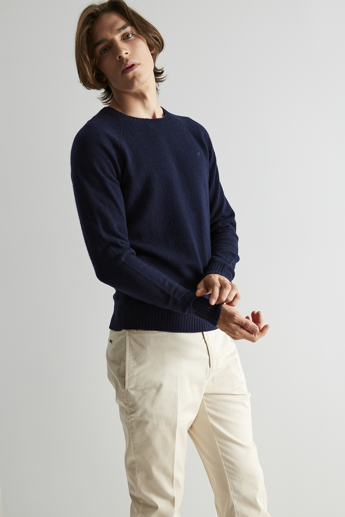Sweater Dark Blue Classic Man
