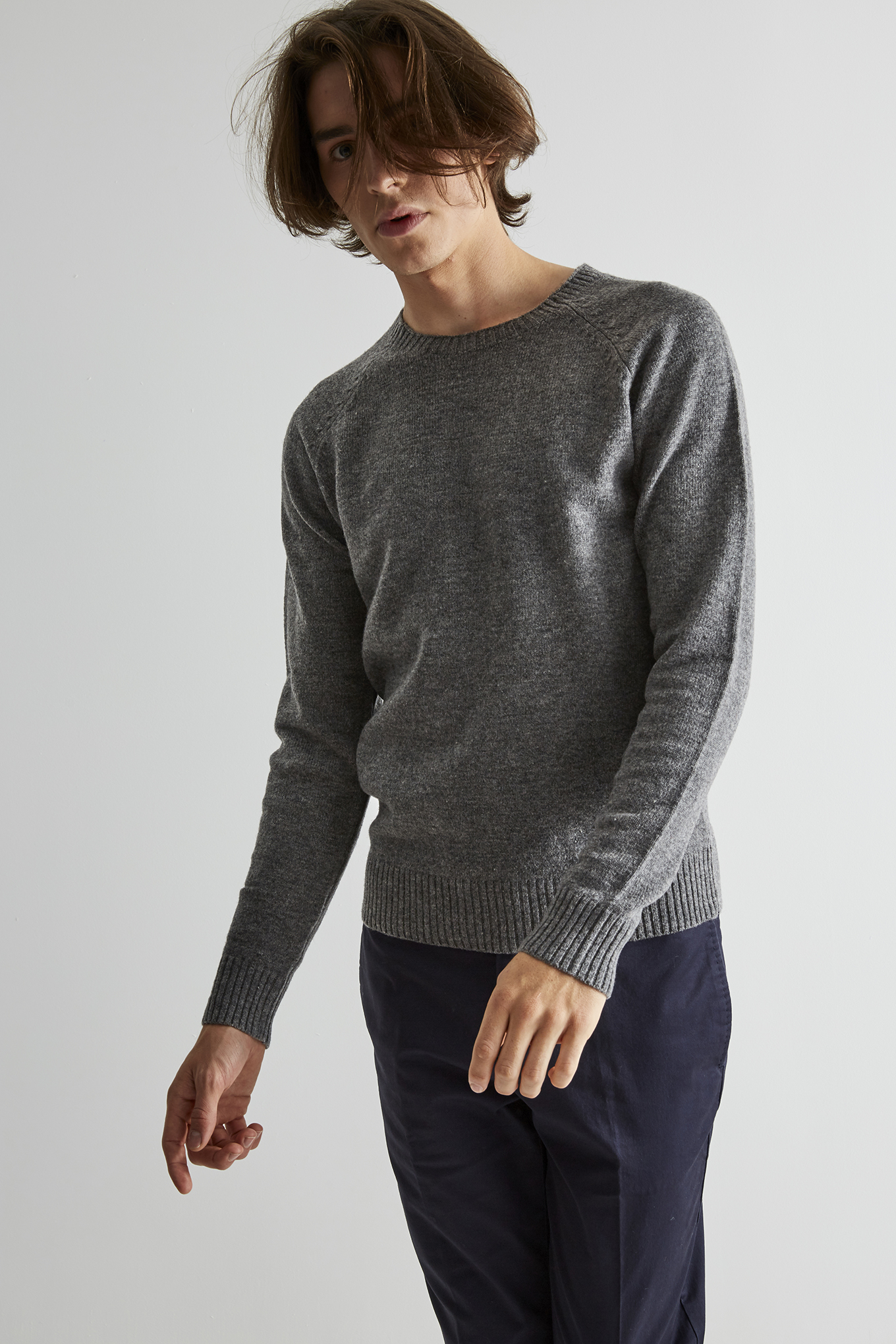 Sweater Mix Grey Classic Man