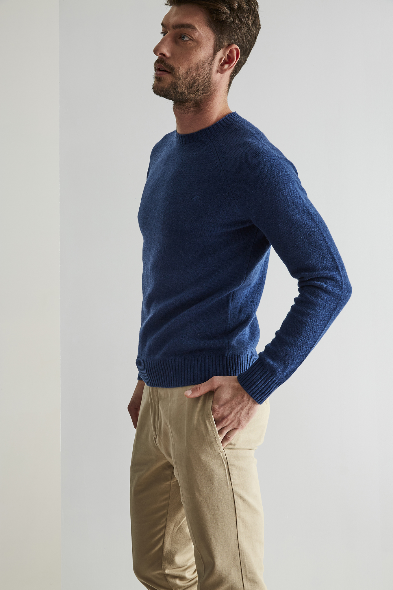 Sweater Blue Sport Man