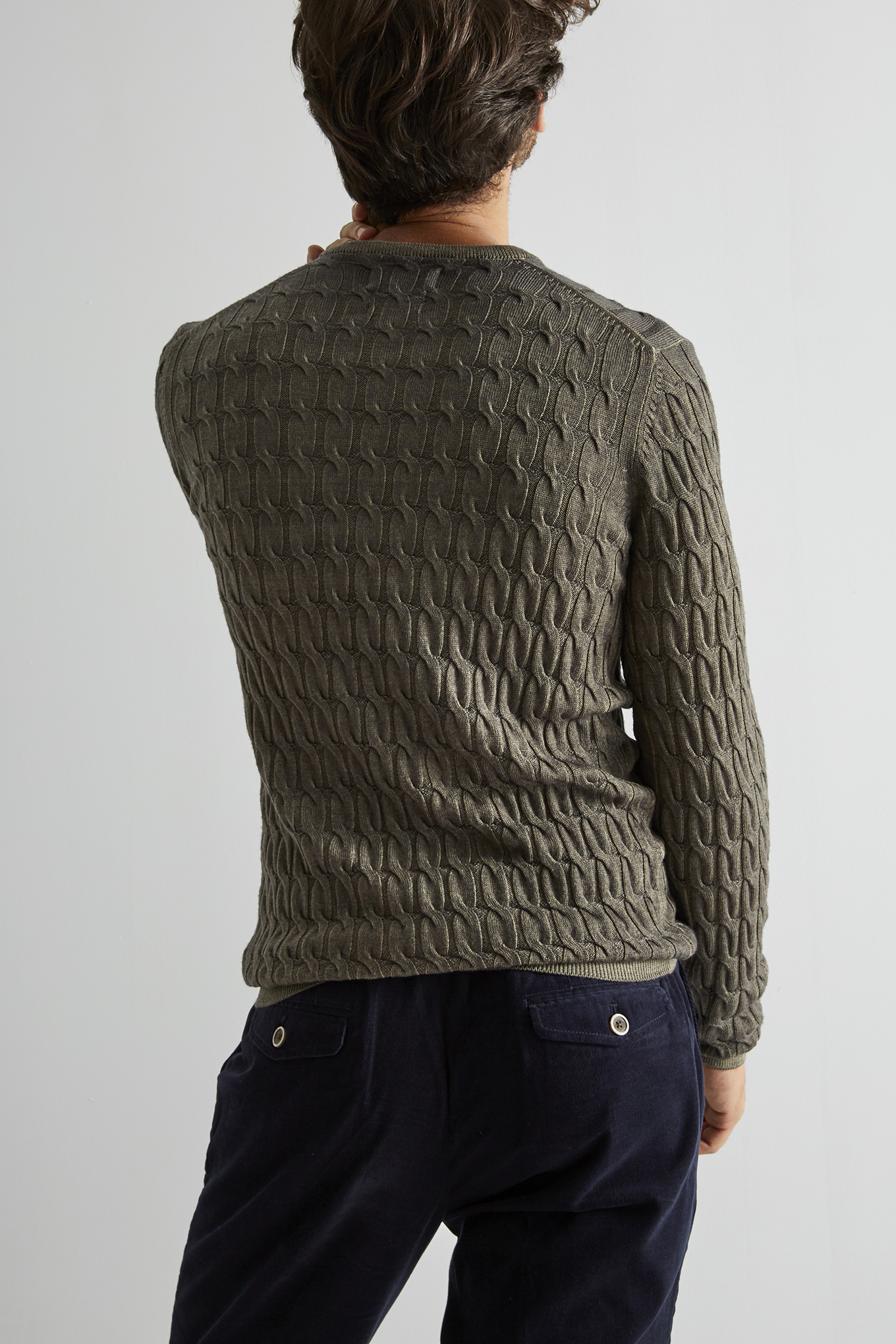 Sweater Khaki Sport Man