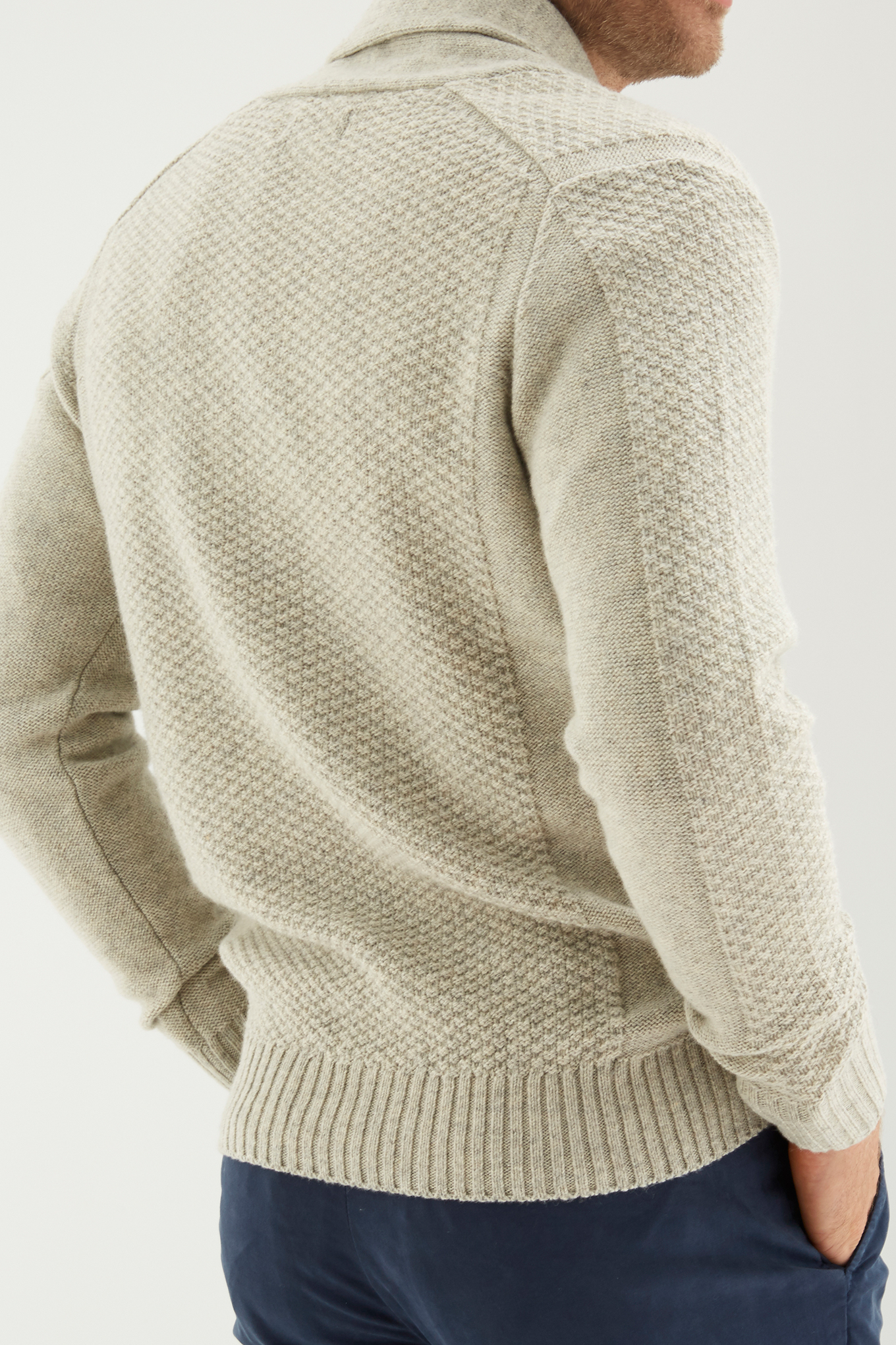 Sweater Light Grey Sport Man