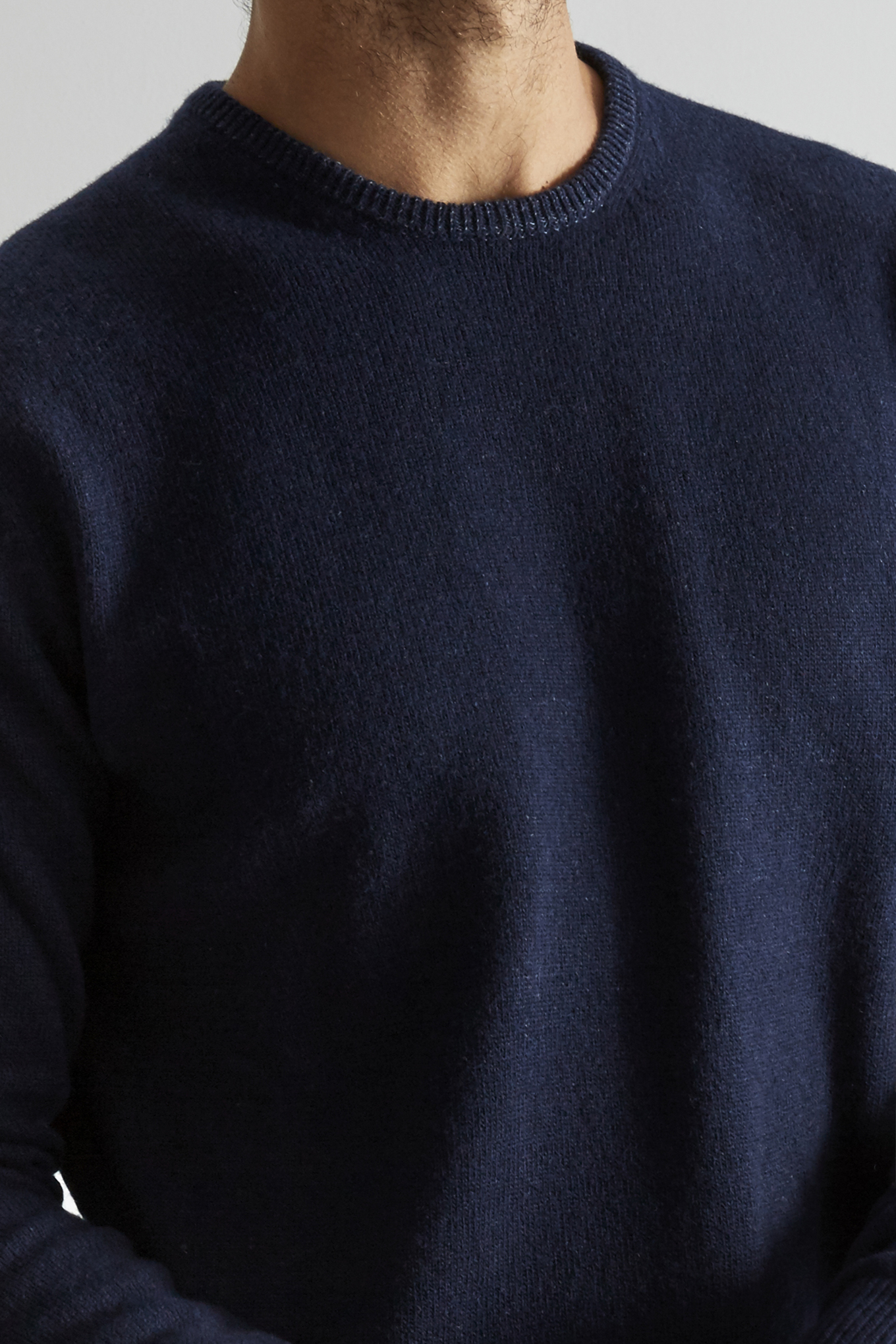 Sweater Dark Blue Sport Man