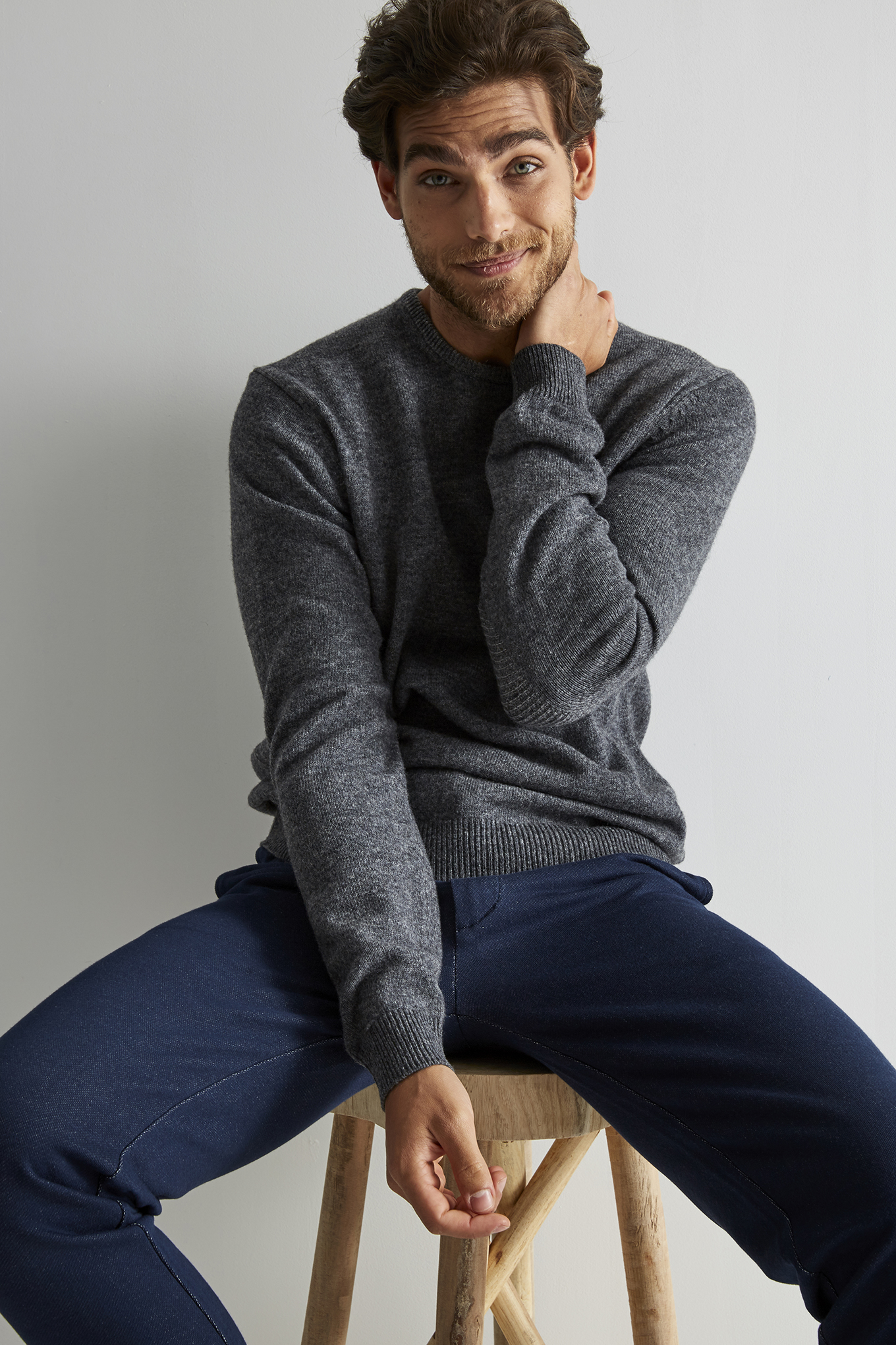 Sweater Dark Grey Sport Man