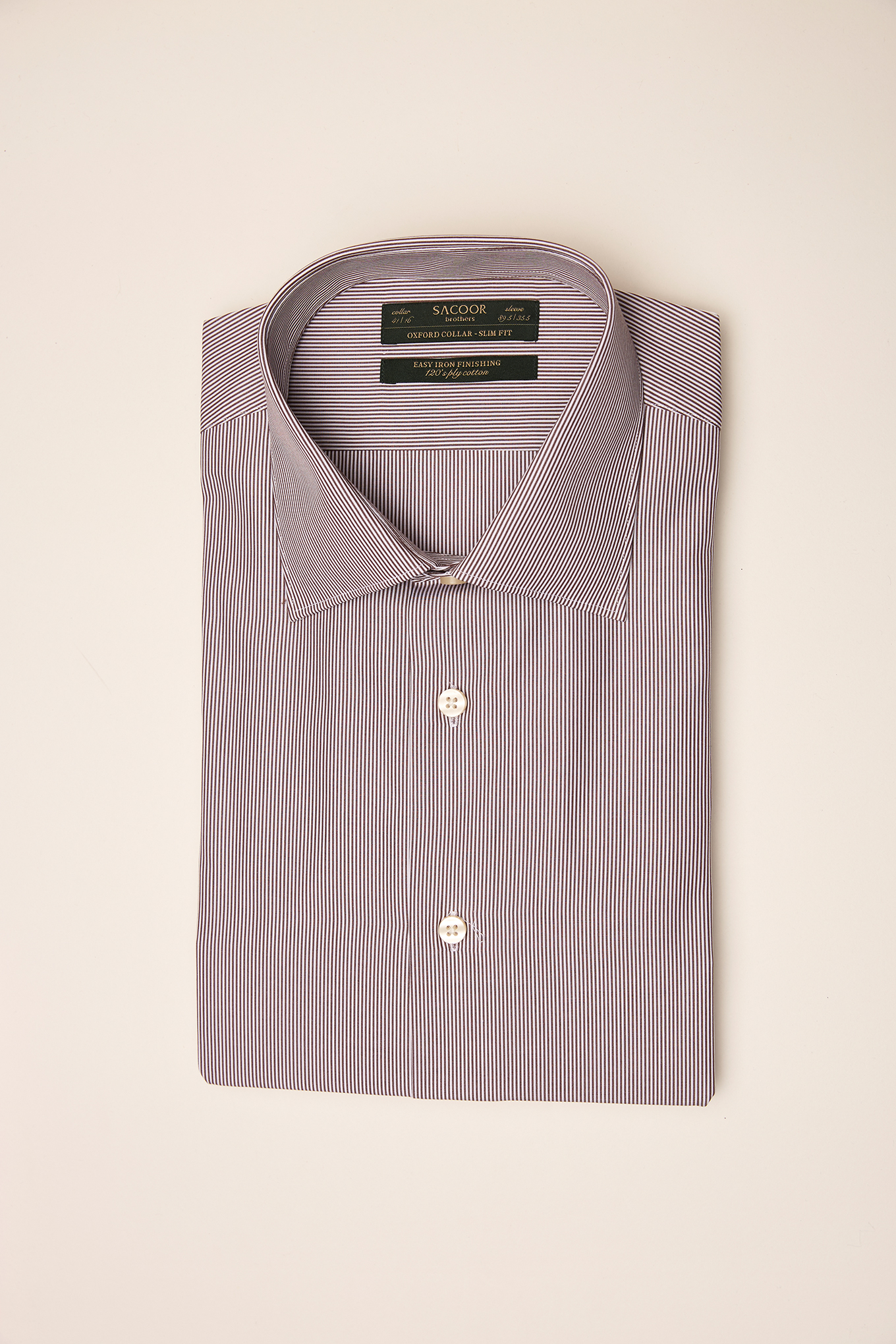 Shirt Chocolate Classic Man