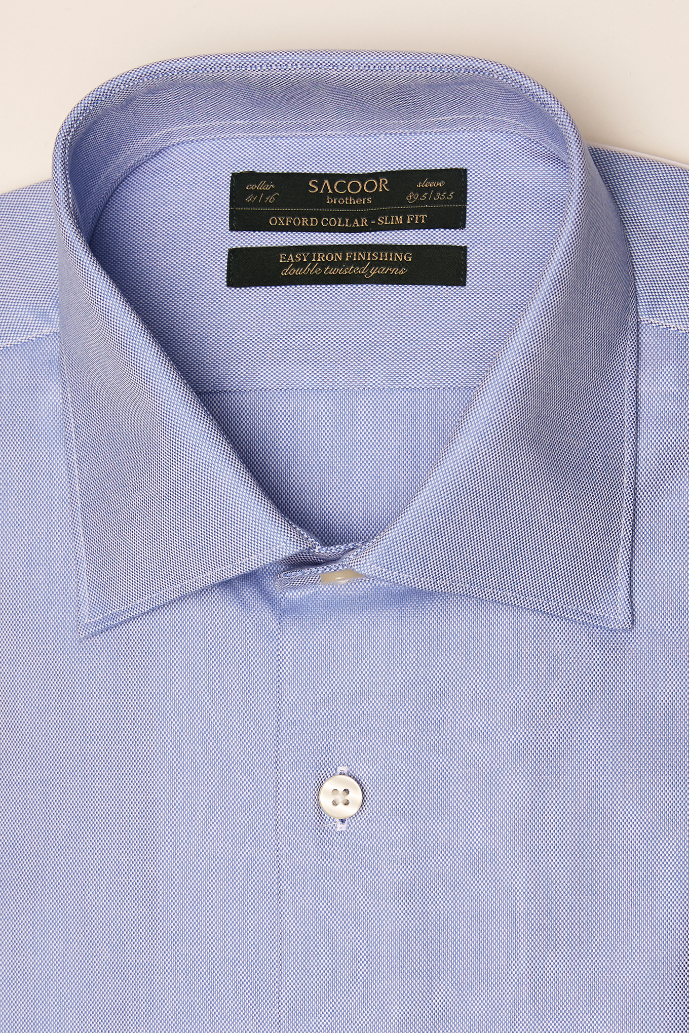 Shirt Medium Blue Classic Man