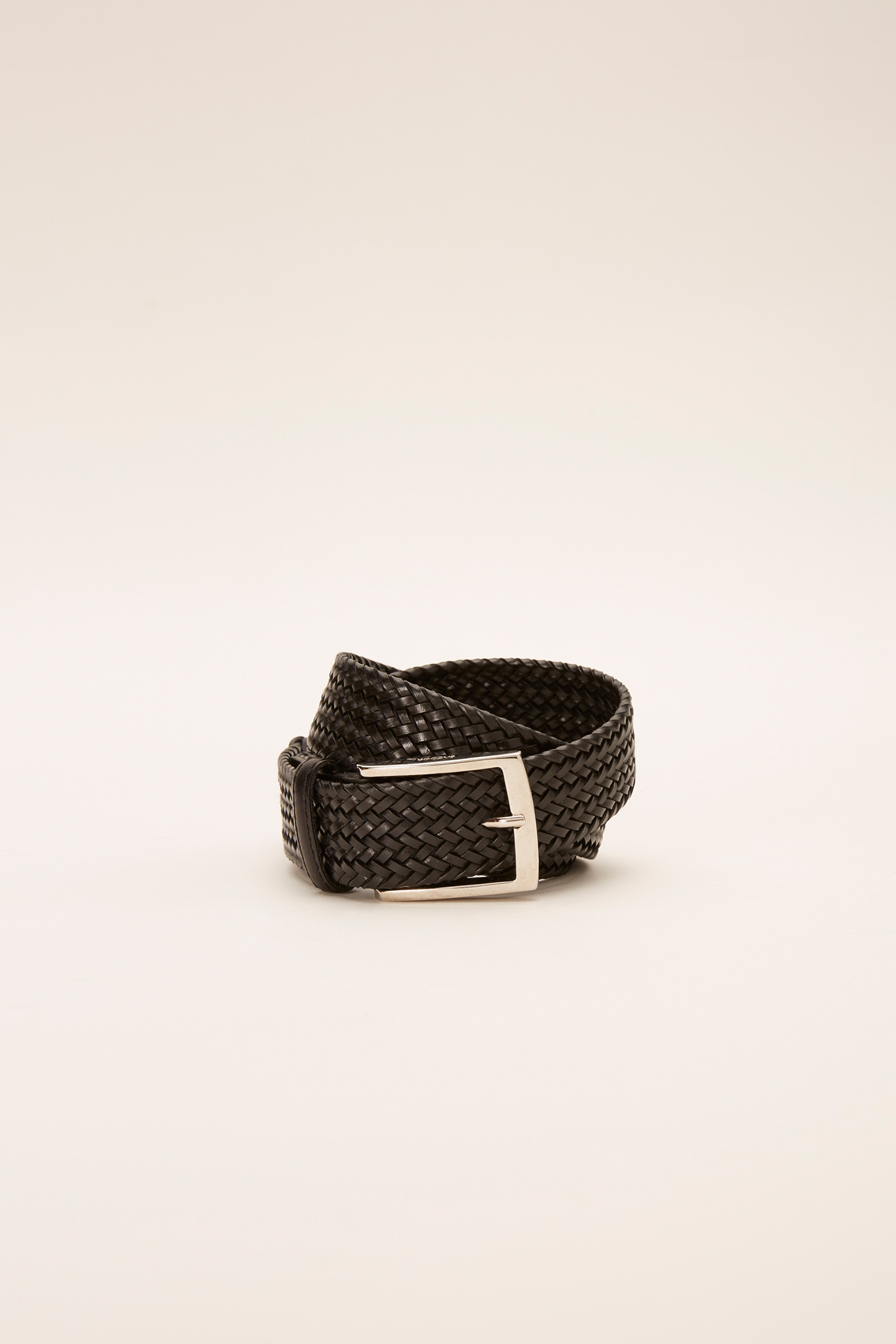 Belt Black Casual Man