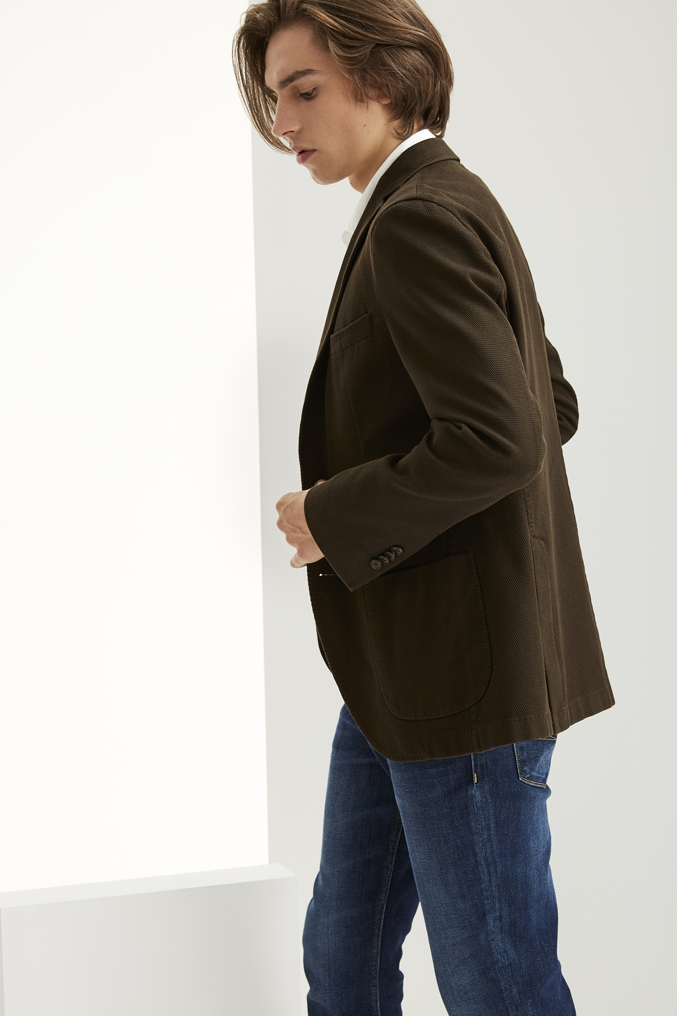 Blazer Chocolate Classic Man