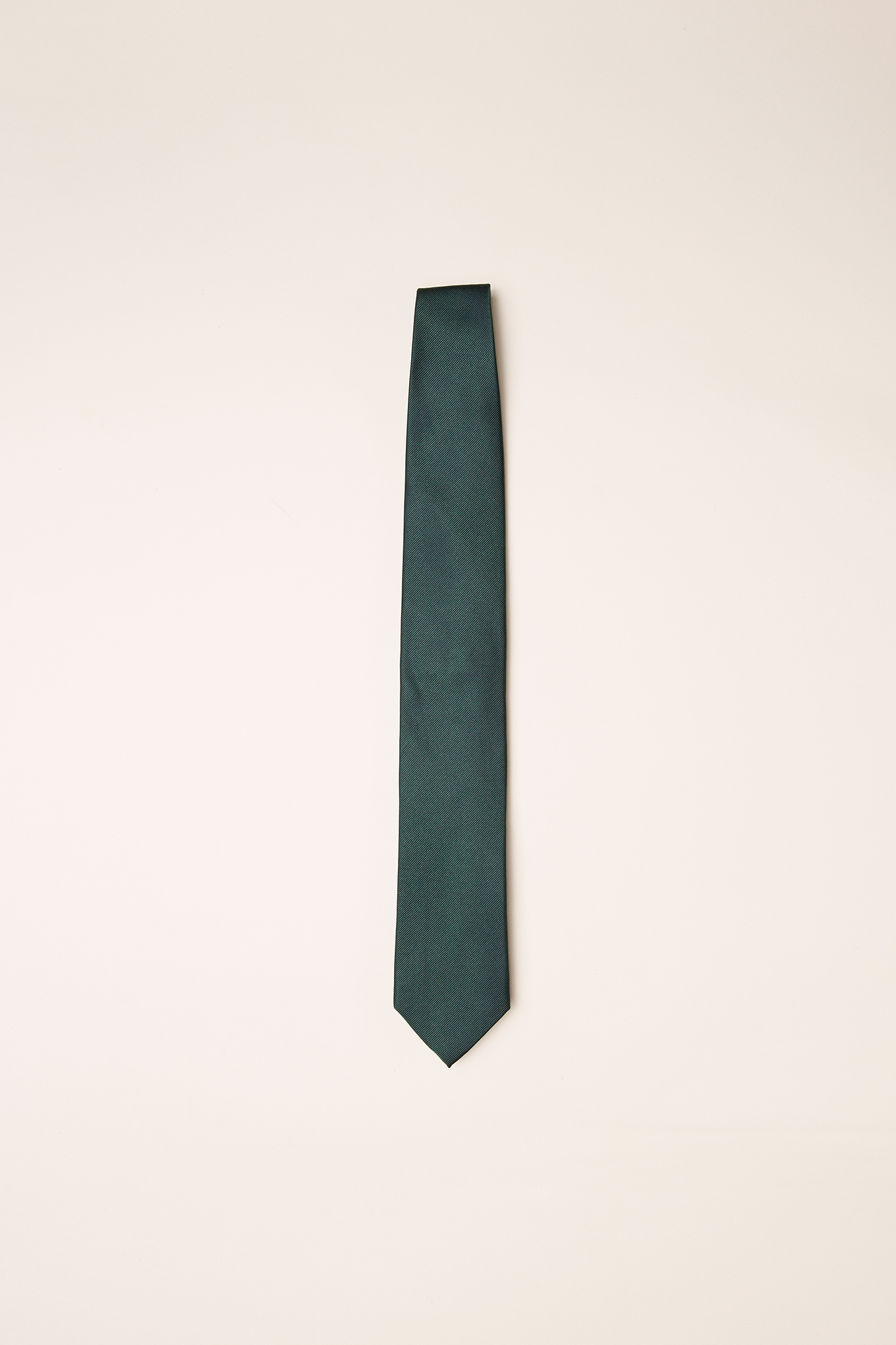 Tie Dark Green Classic Man