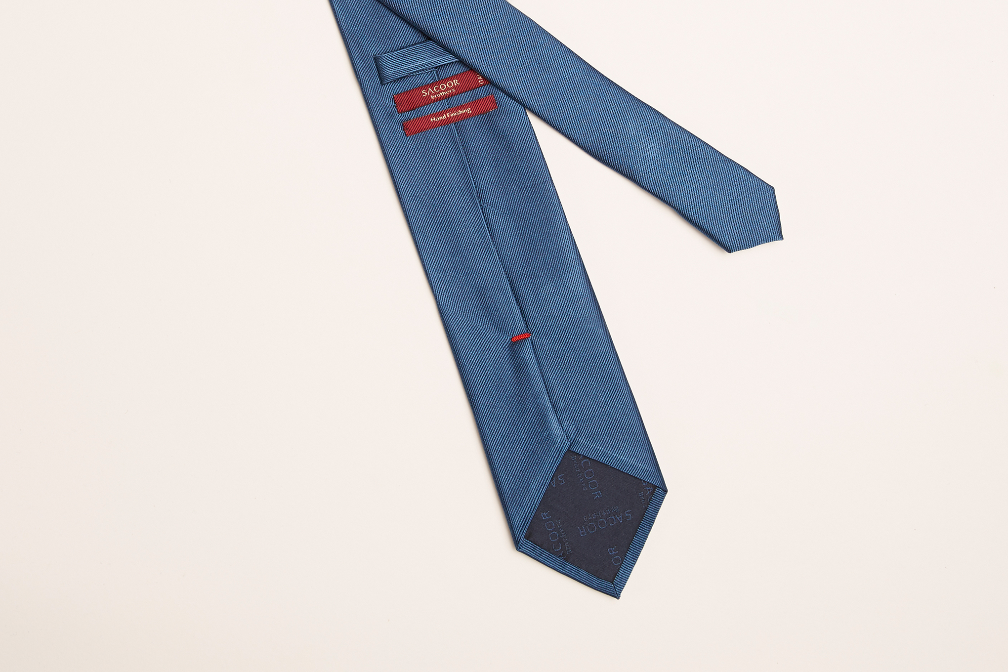 Tie Medium Blue Classic Man