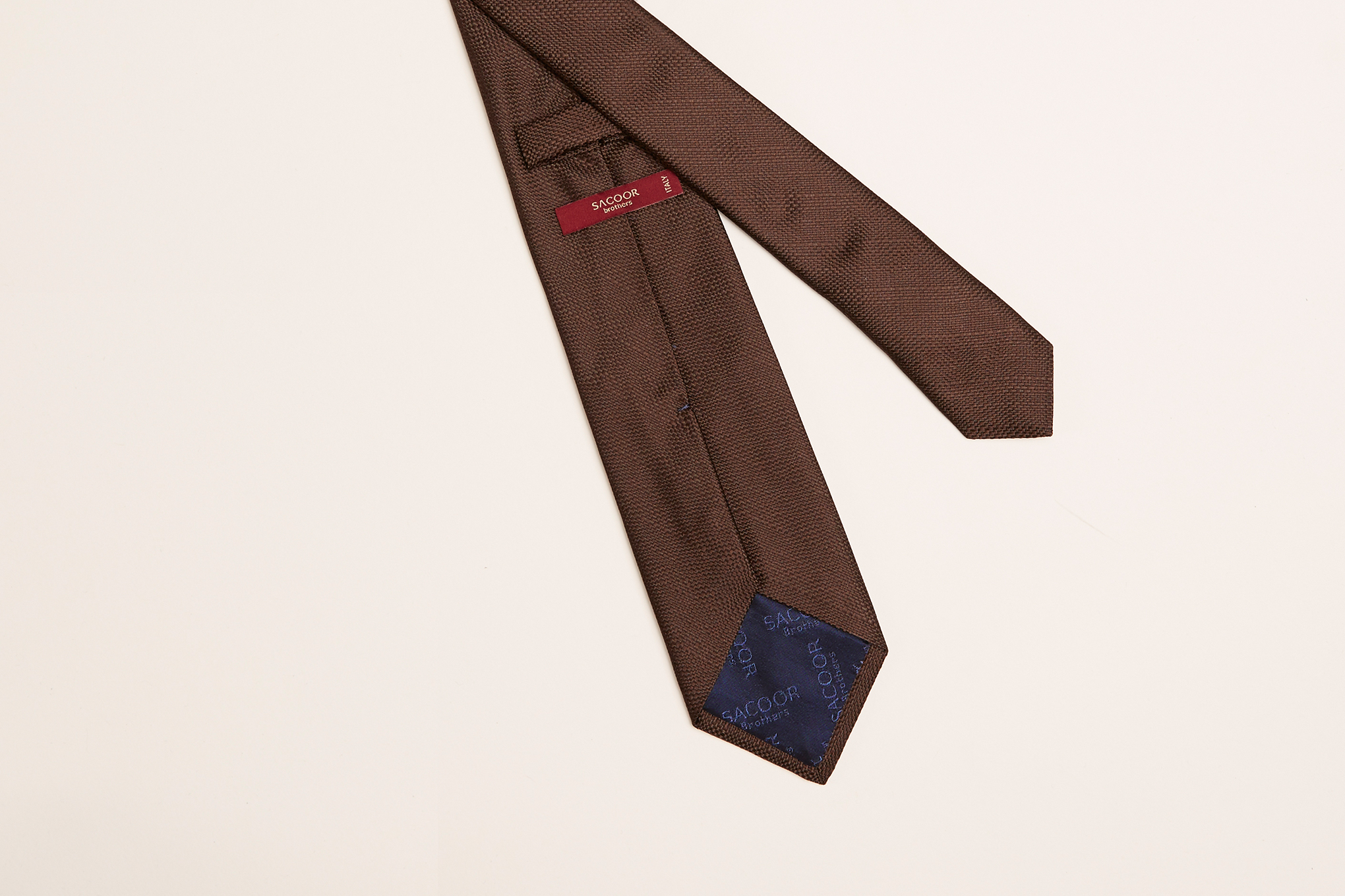 Tie Brown Classic Man
