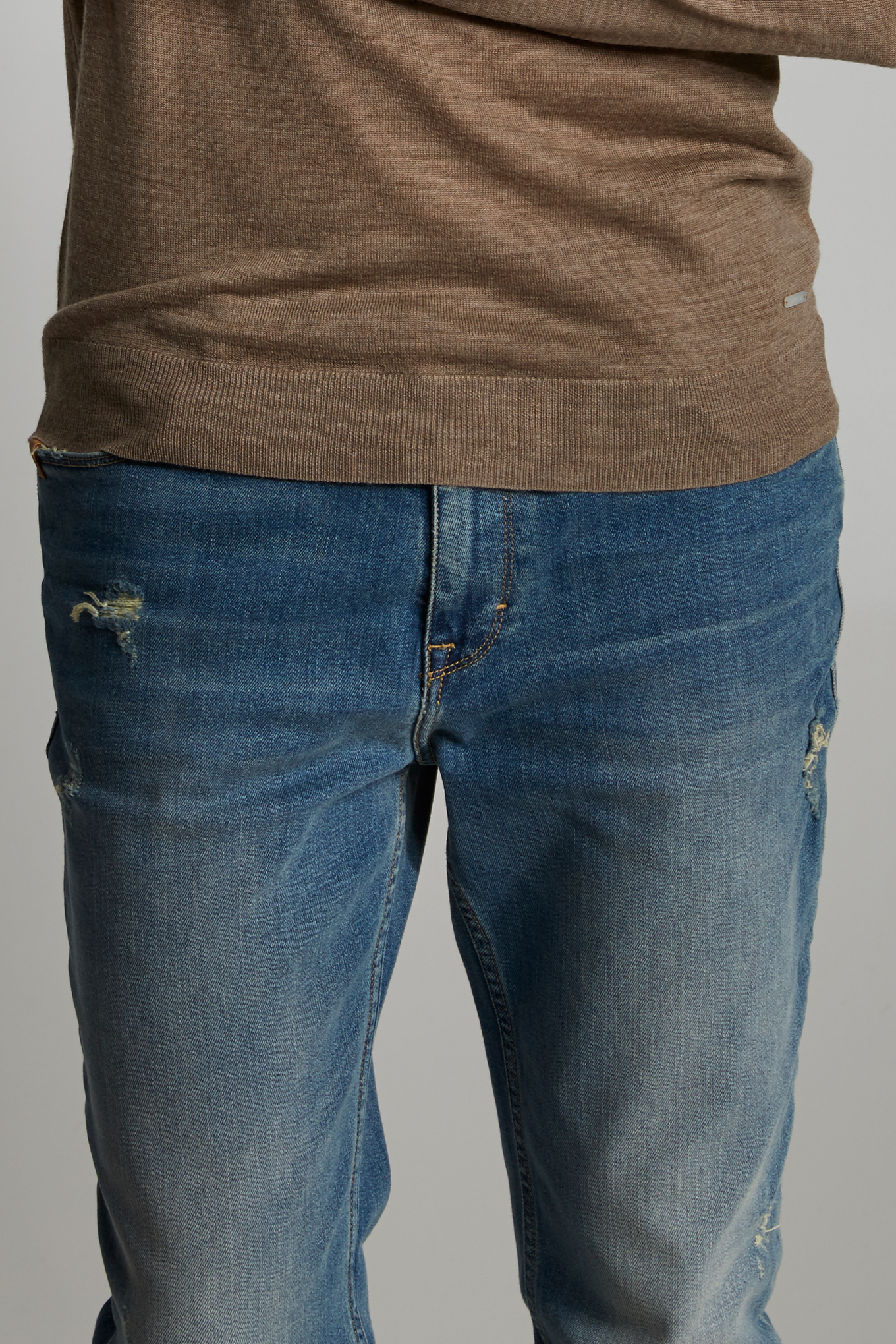 Jeans Light Blue Casual Man