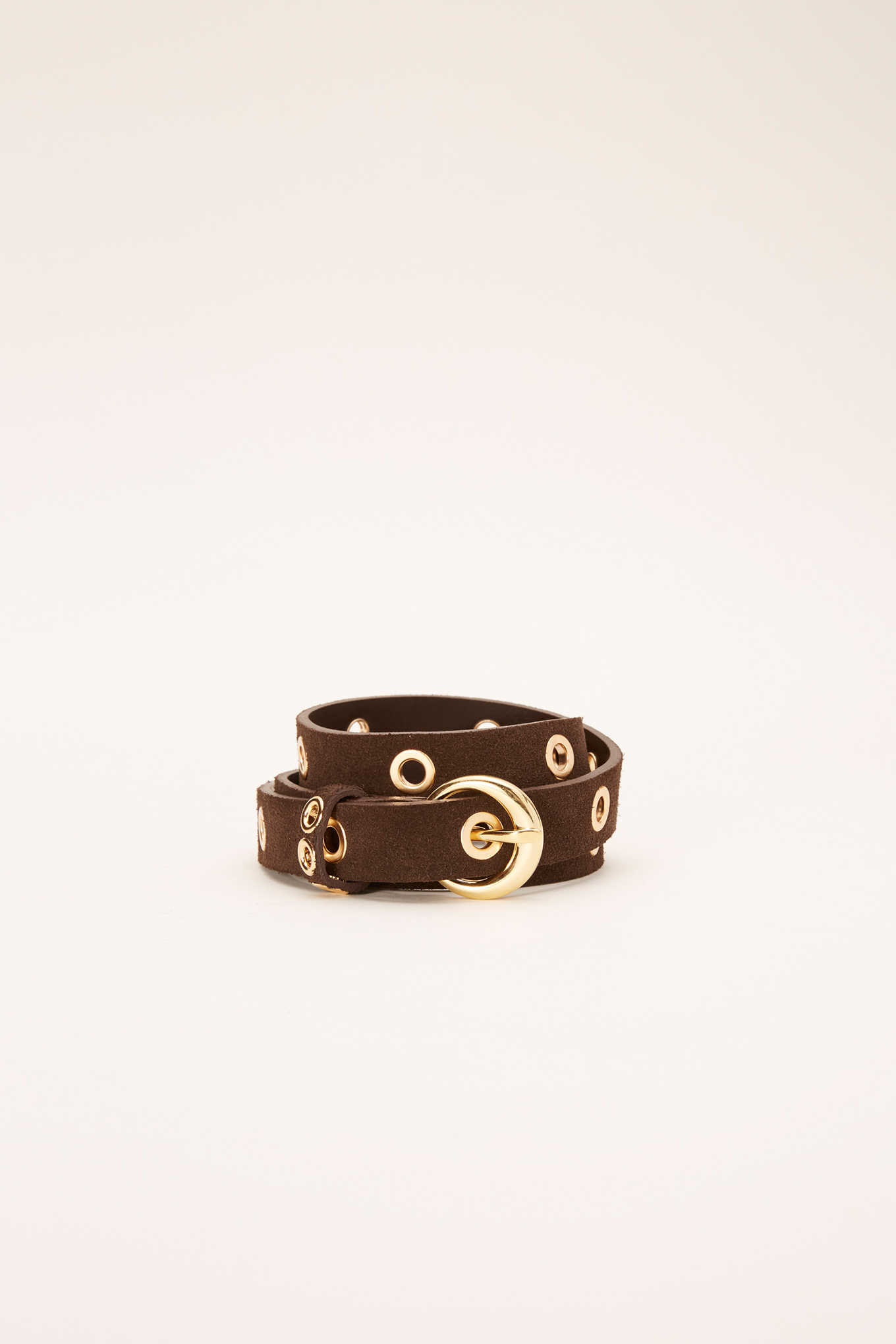 Belt Chocolate Casual Woman