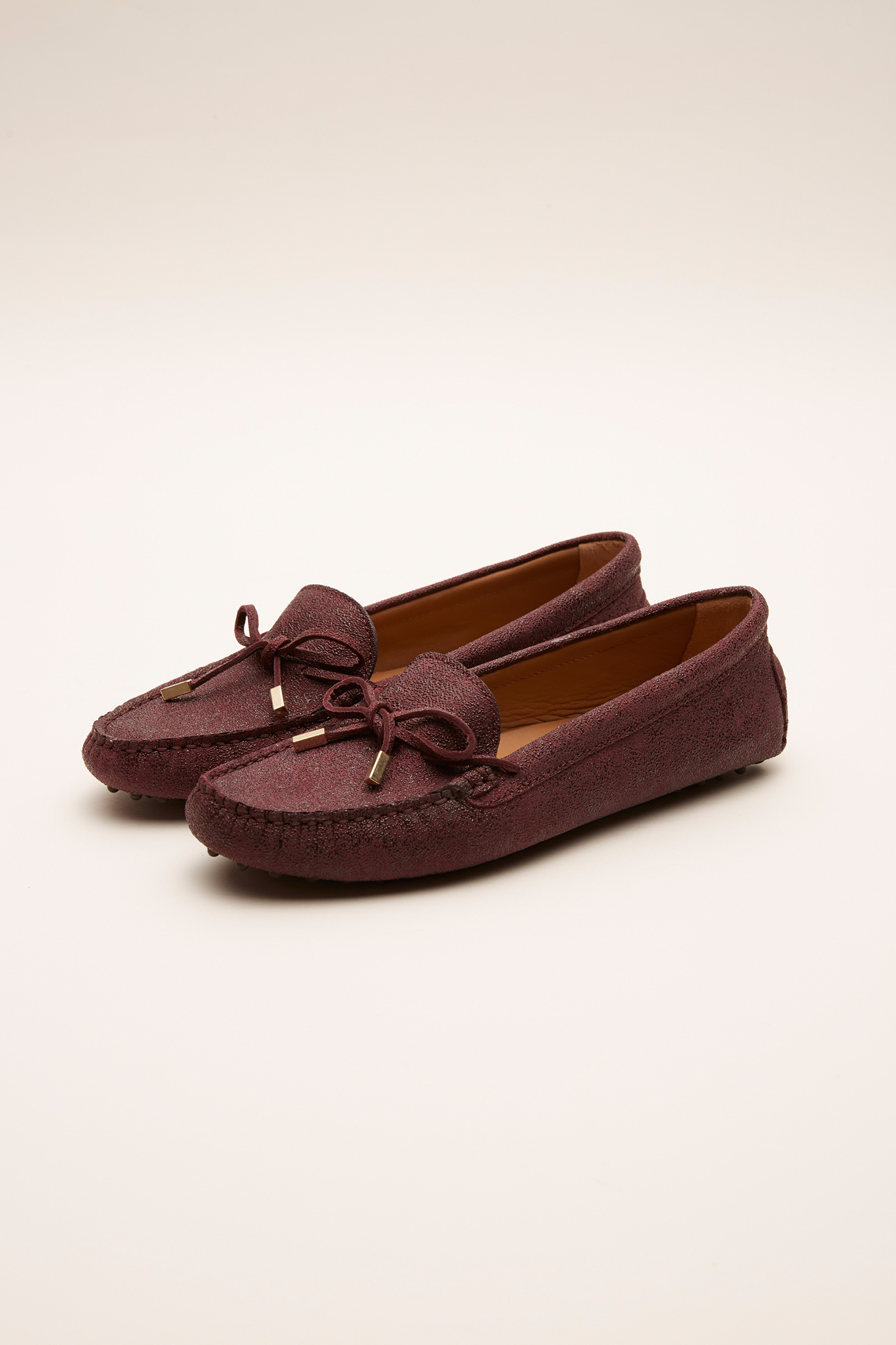 Drivers Bordeaux Casual Mulher