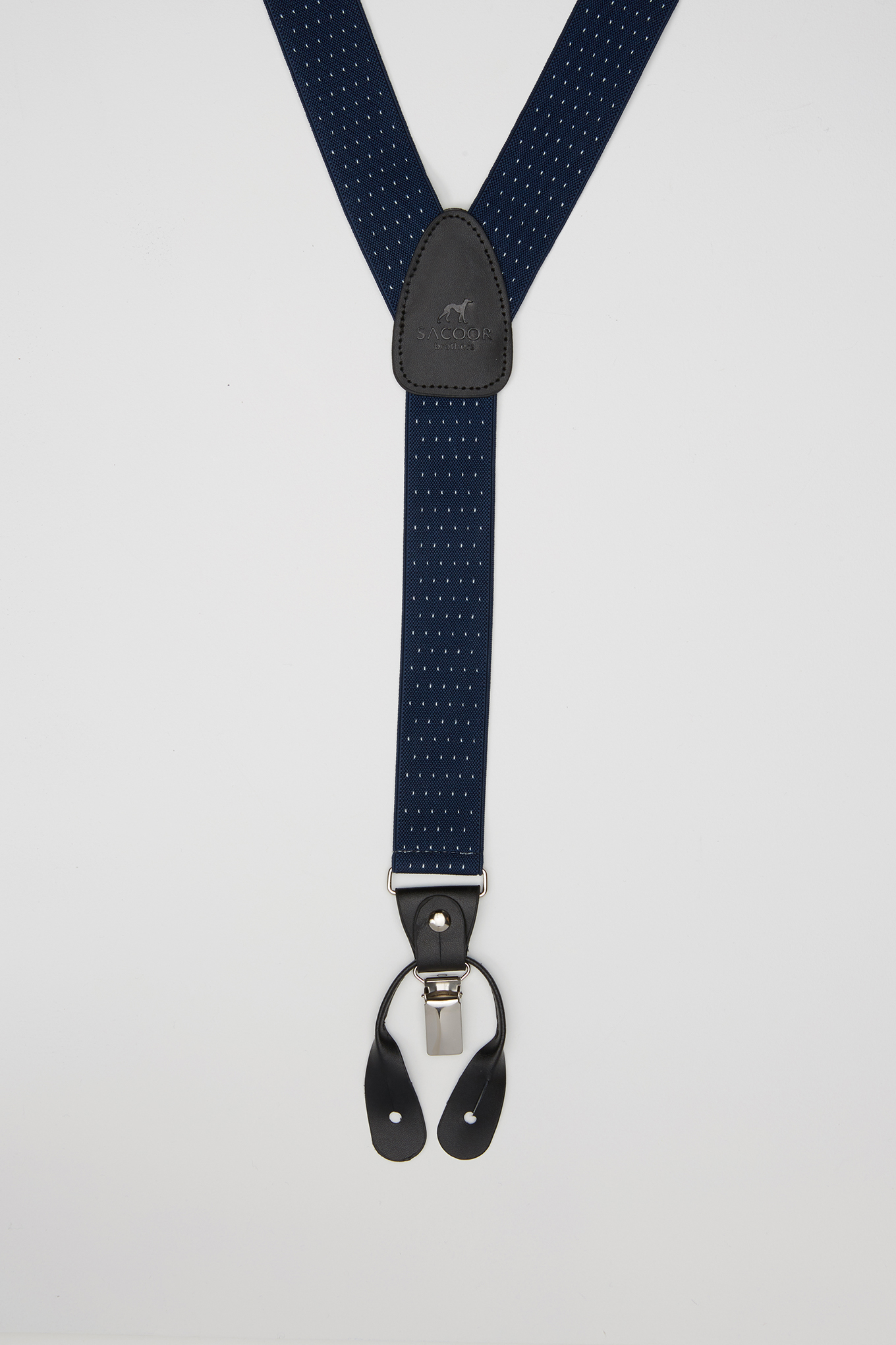 Suspenders Dark Blue Classic Man