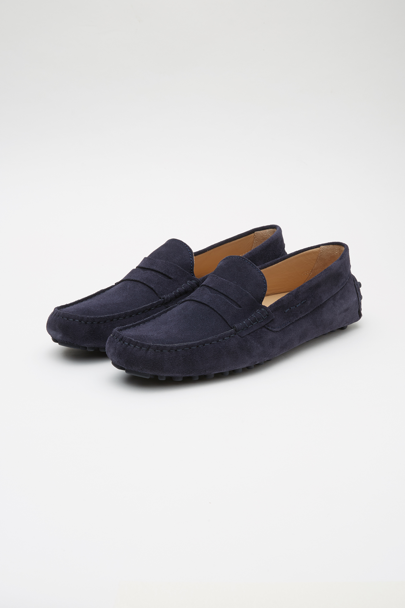 Drivers Dark Blue Casual Man