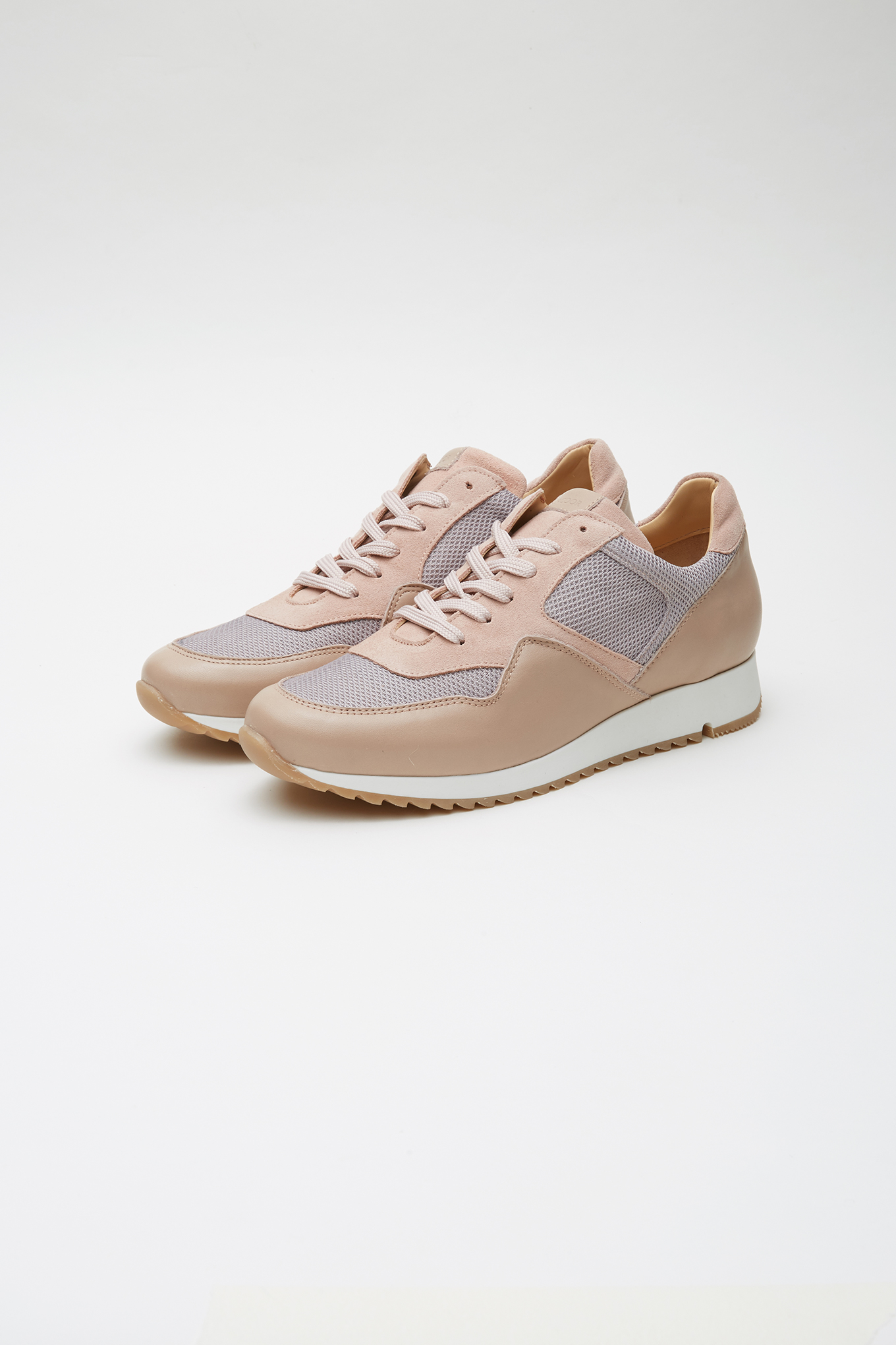 Tenis Rosa Pálido Casual Mulher