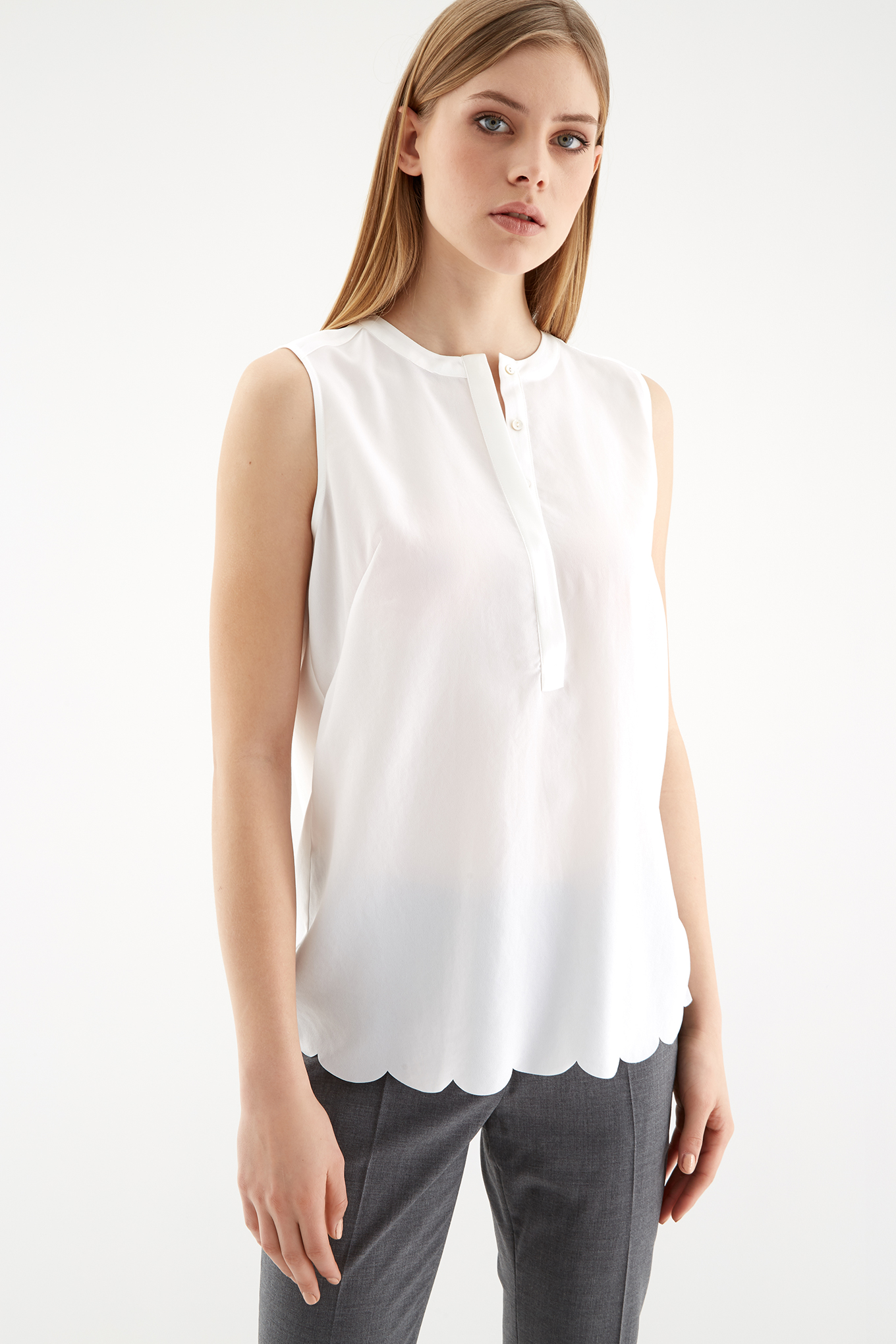 Blouse White Fantasy Woman