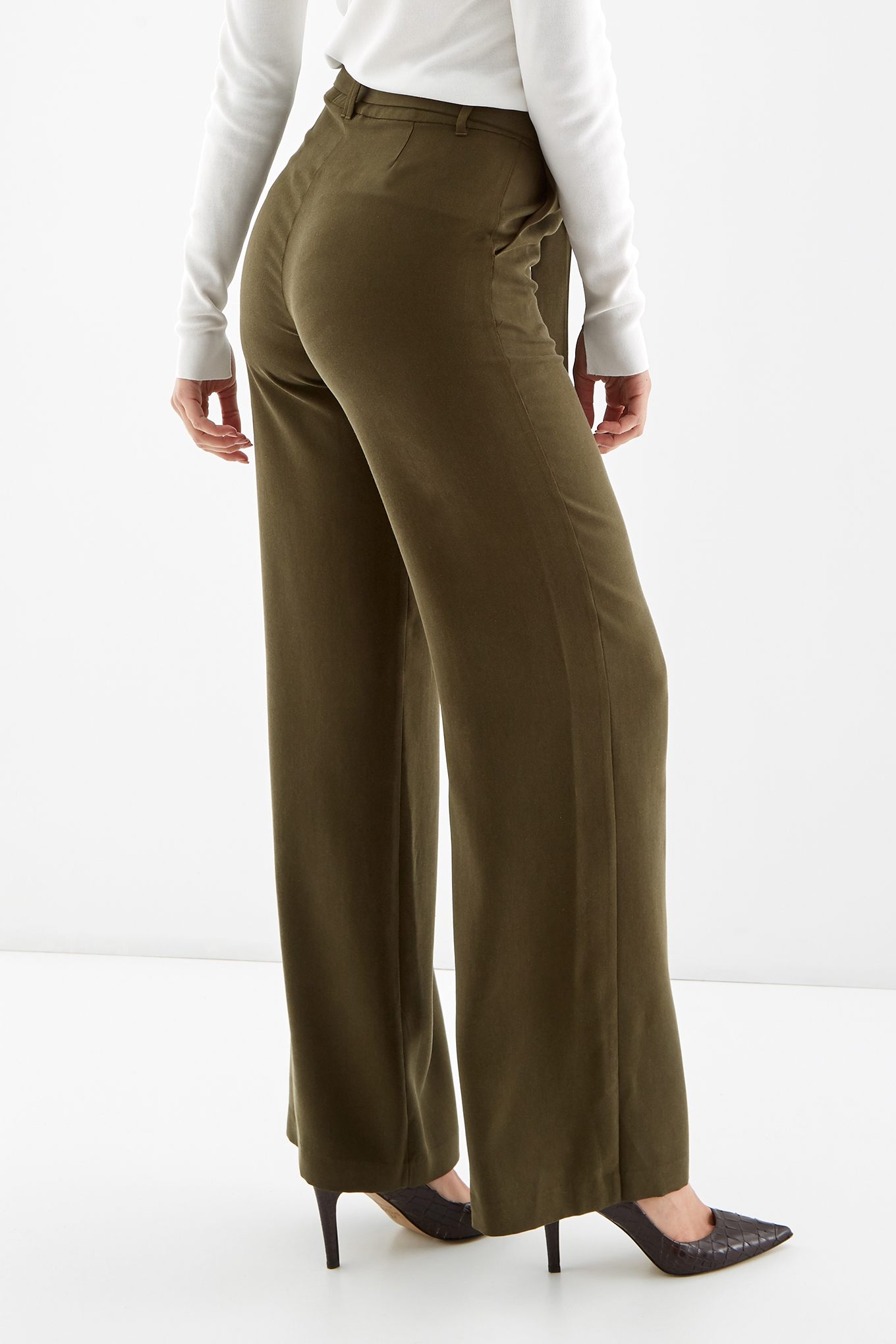 Trousers Khaki Fantasy Woman