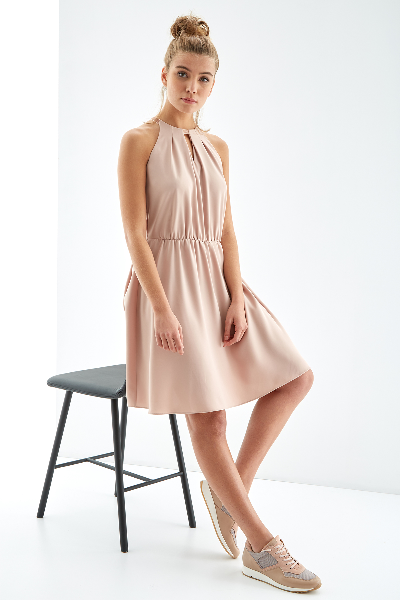 Dress Pale Pink Fantasy Woman