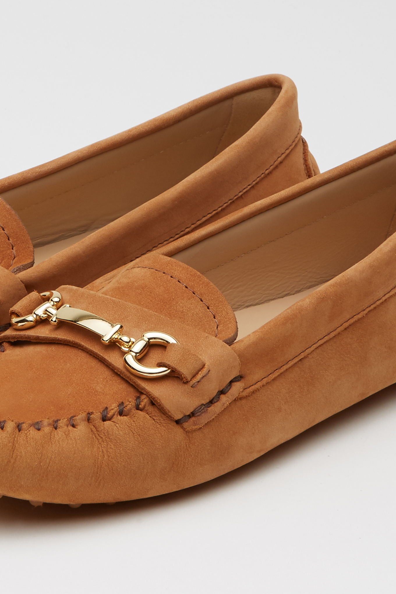 Drivers Camel Casual Mulher