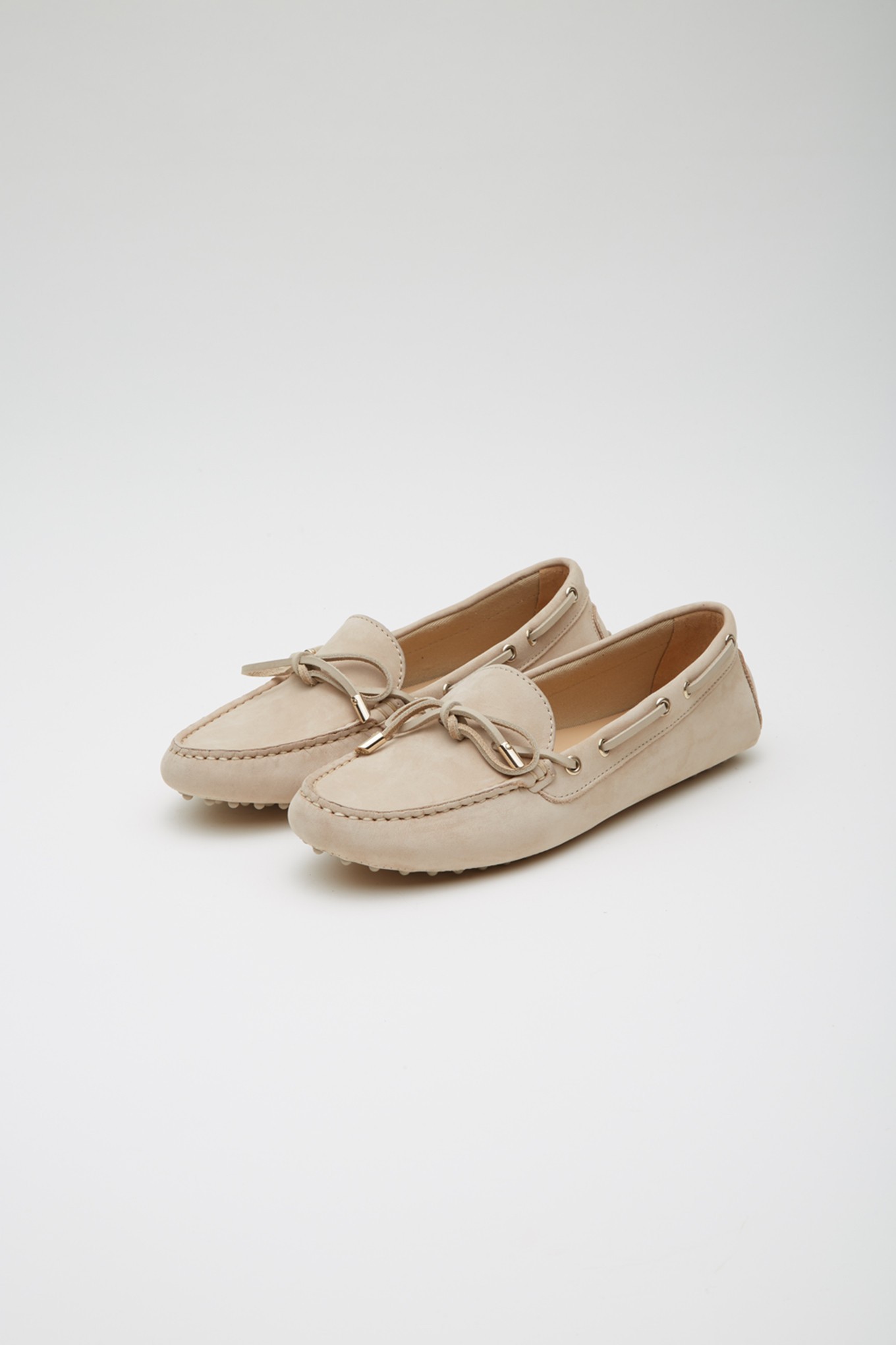 Drivers Beige Casual Woman