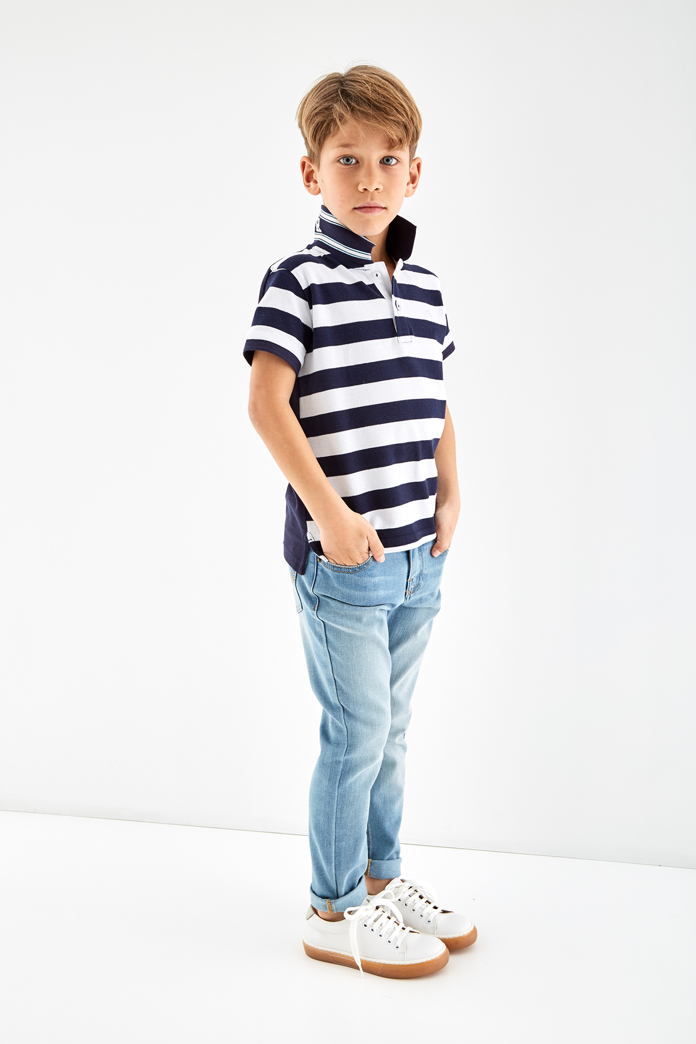 Jeans Light Blue Sport Boy