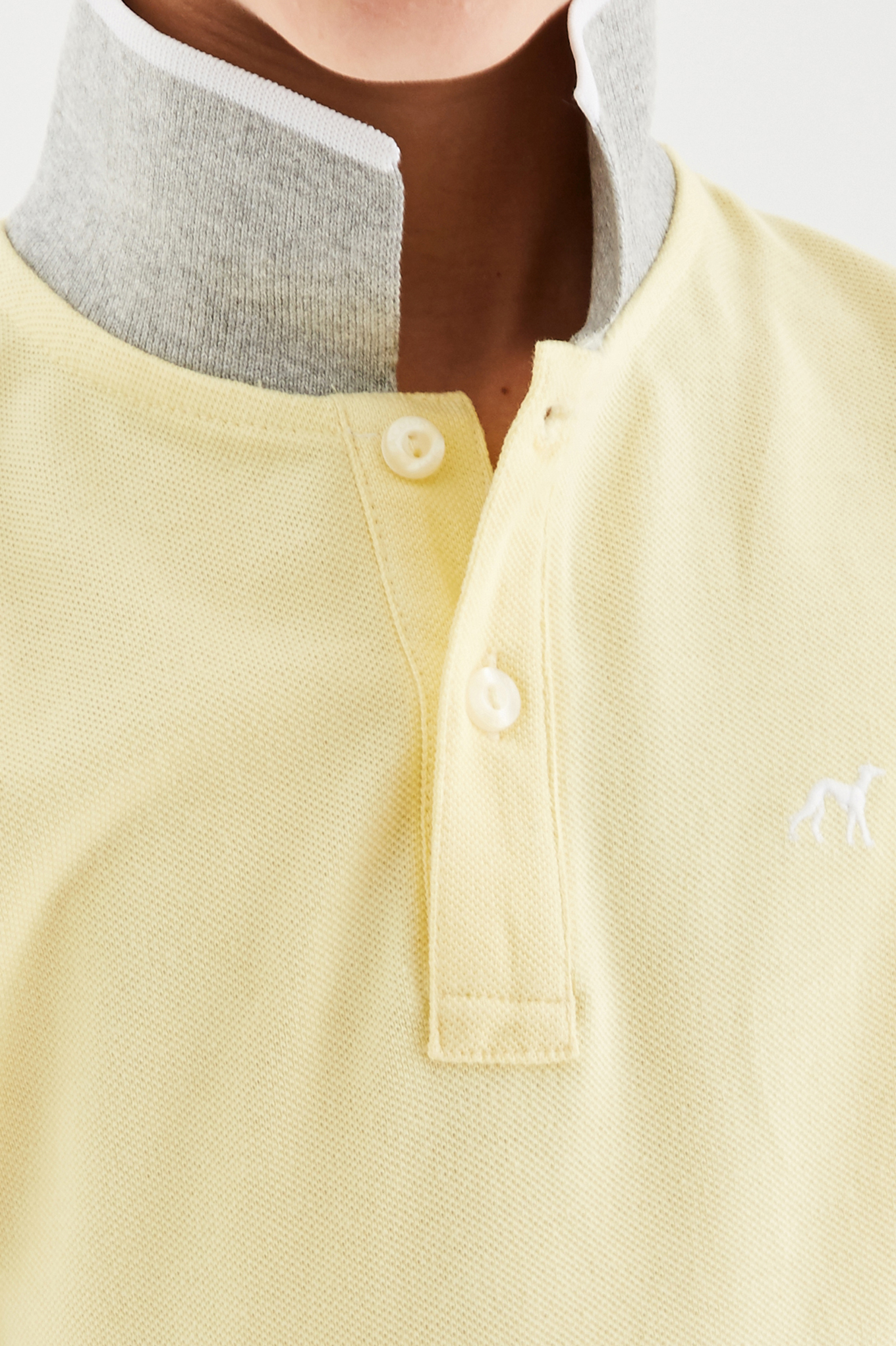 Polo Piquet Light Yellow Sport Boy