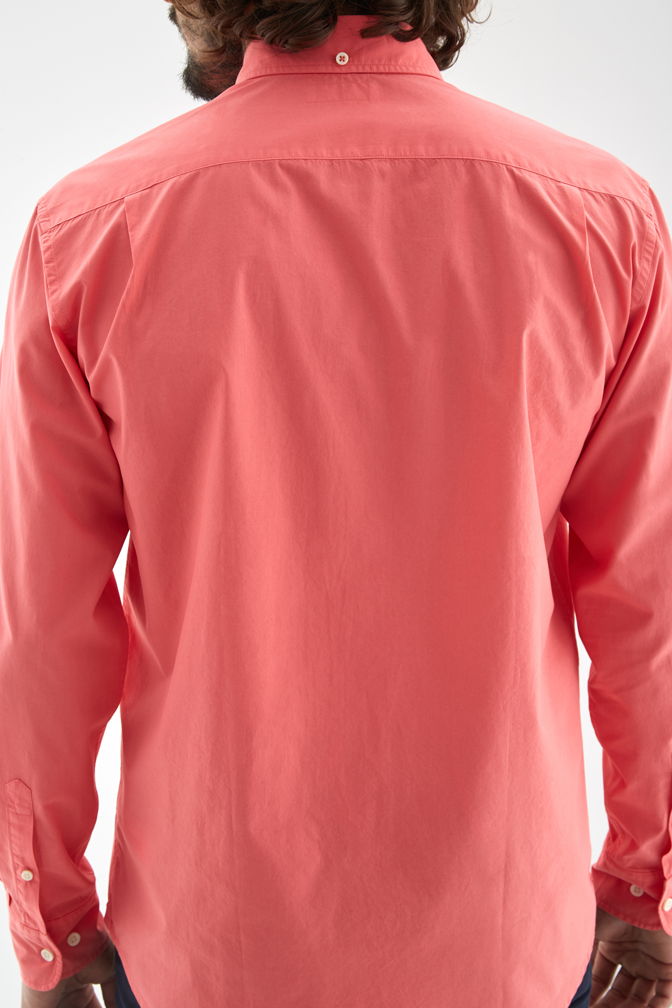 Shirt Salmon Sport Man