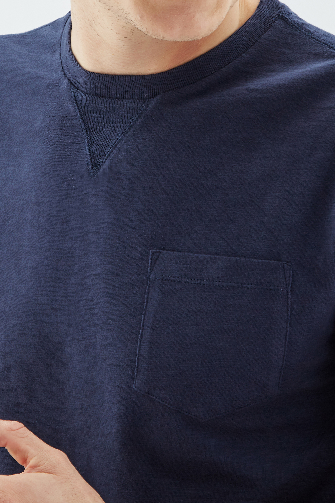 T-Shirt Dark Blue Sport Man