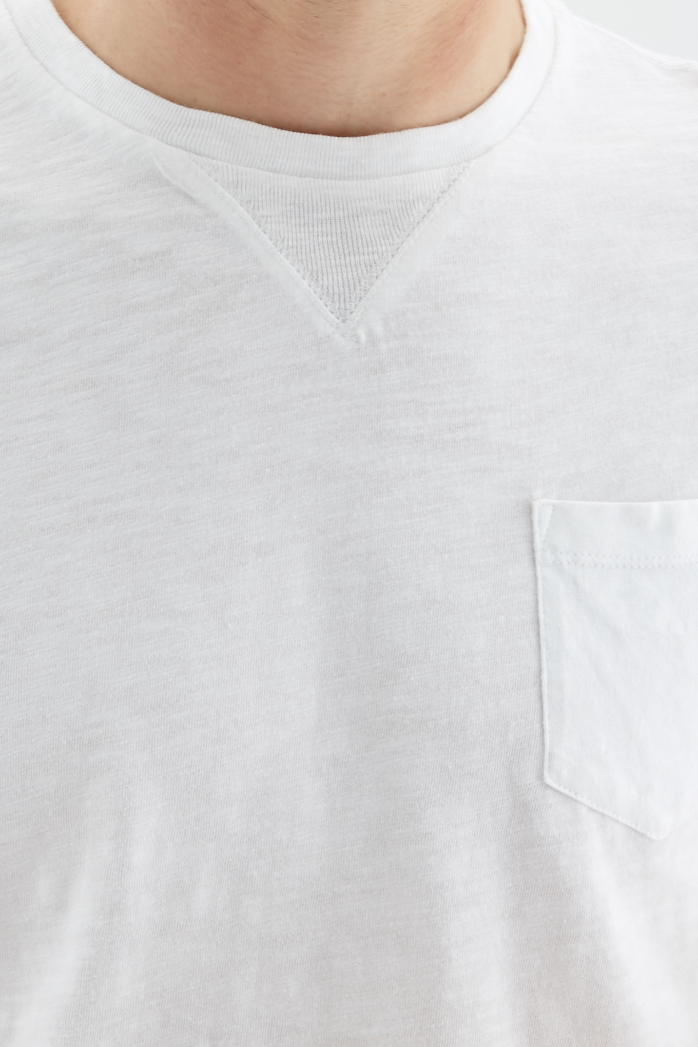 T-Shirt White Sport Man