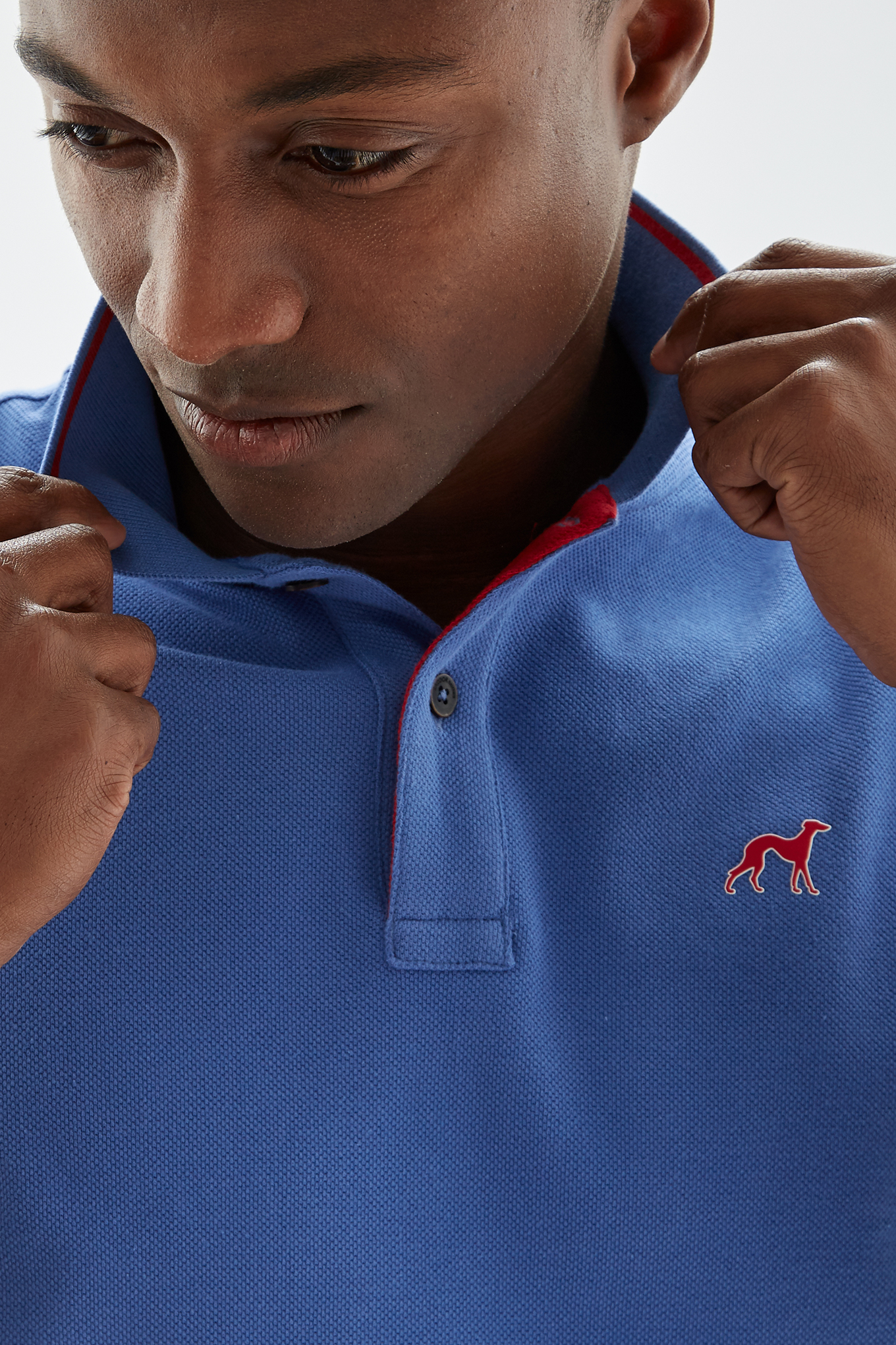 Polo Piquet Blue Sport Man