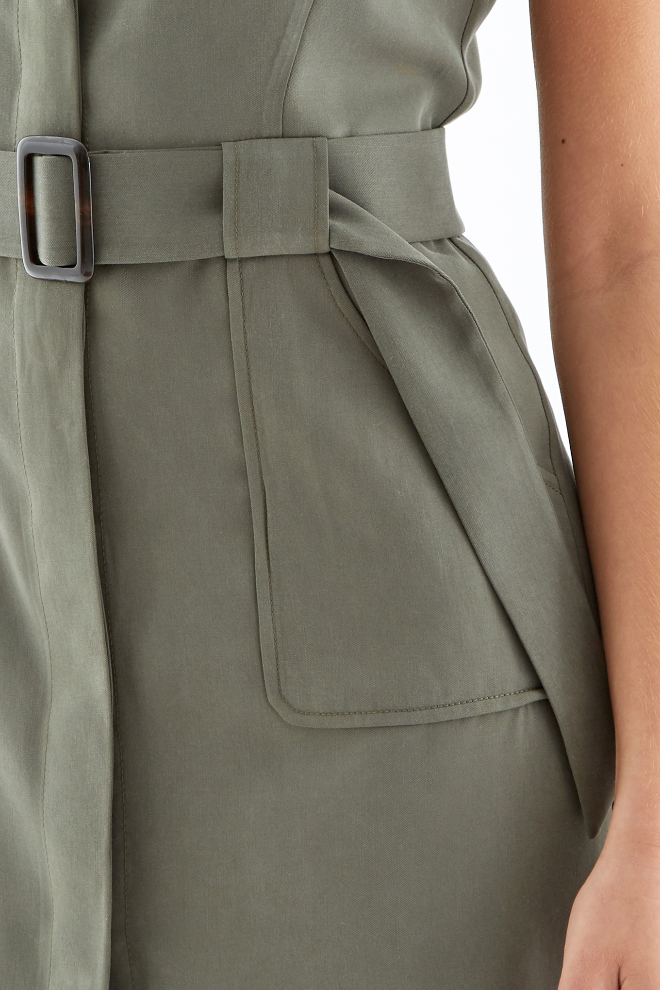 Dress Khaki Fantasy Woman