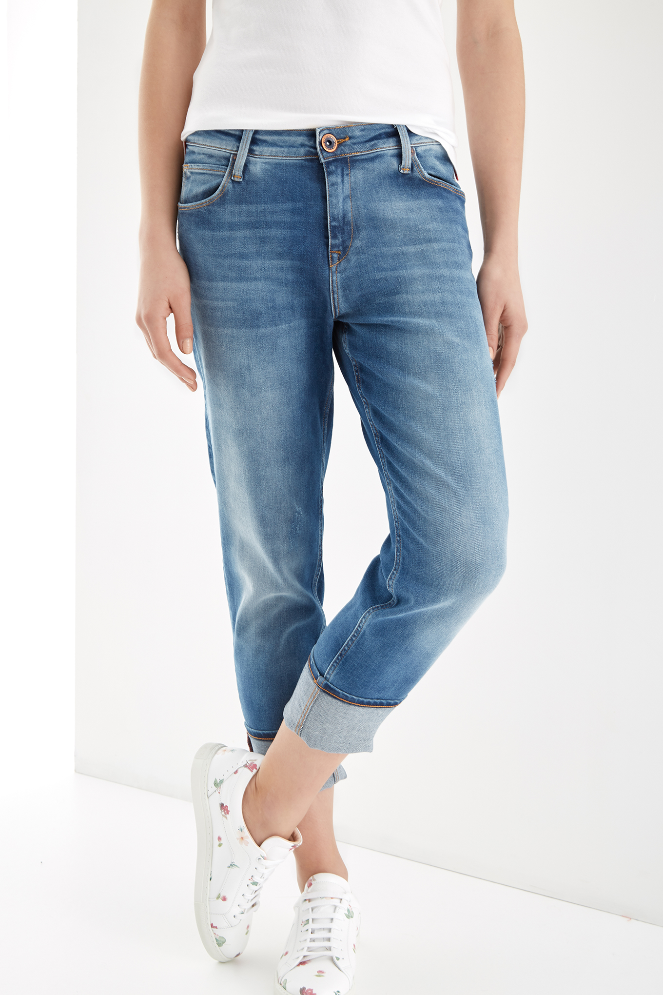 Jeans Light Blue Sport Woman