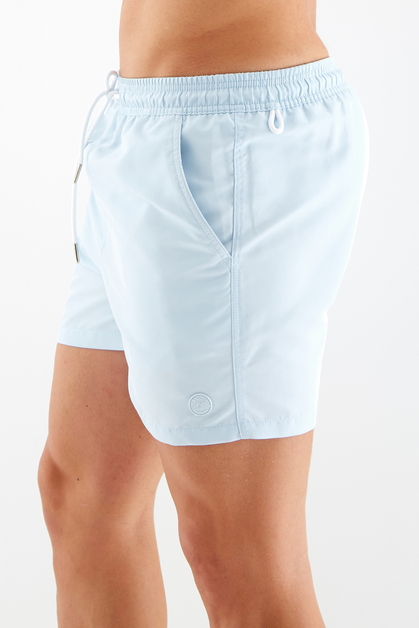 Beachwear Shorts Light Blue Sport Man