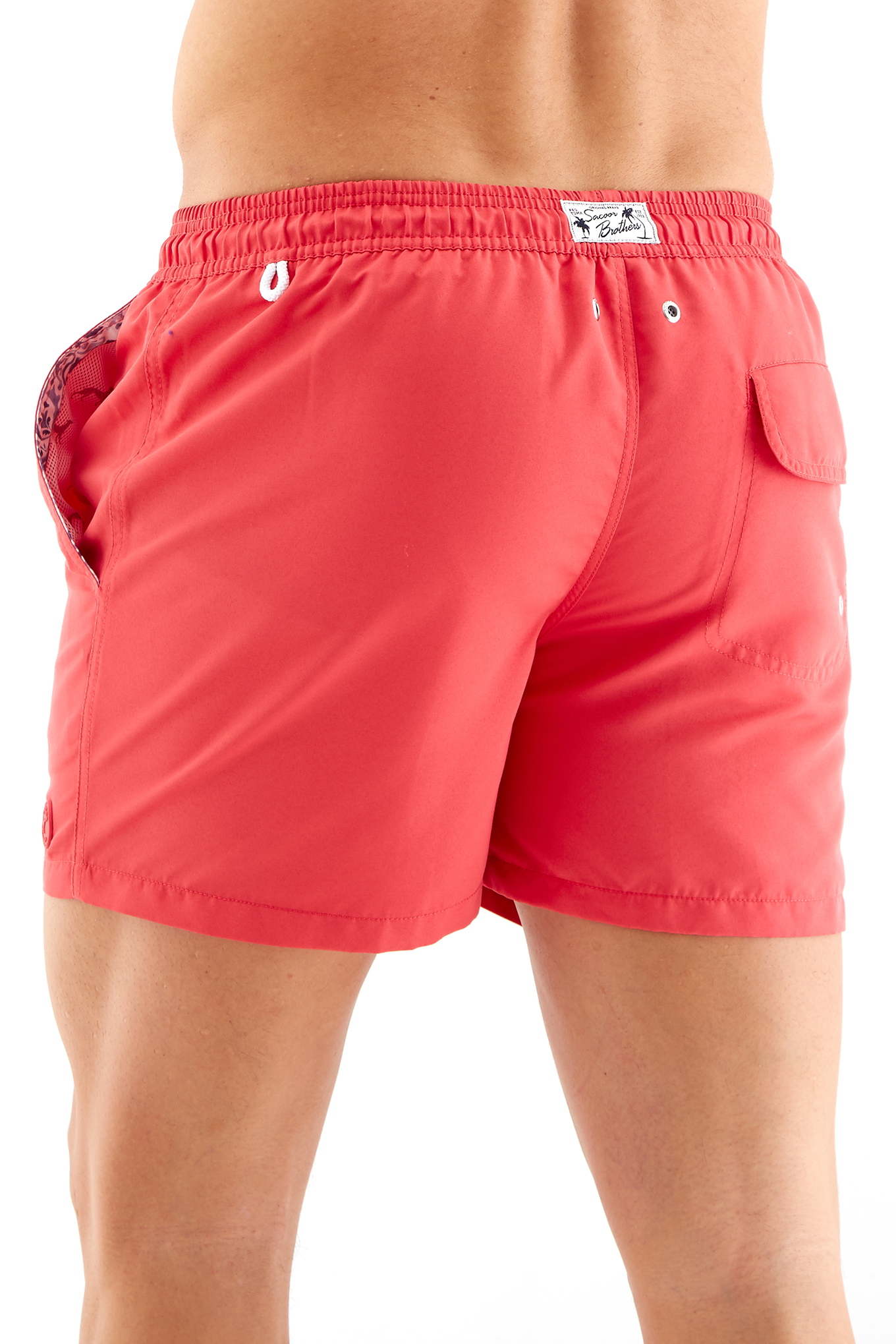 Beachwear Shorts Salmon Sport Man