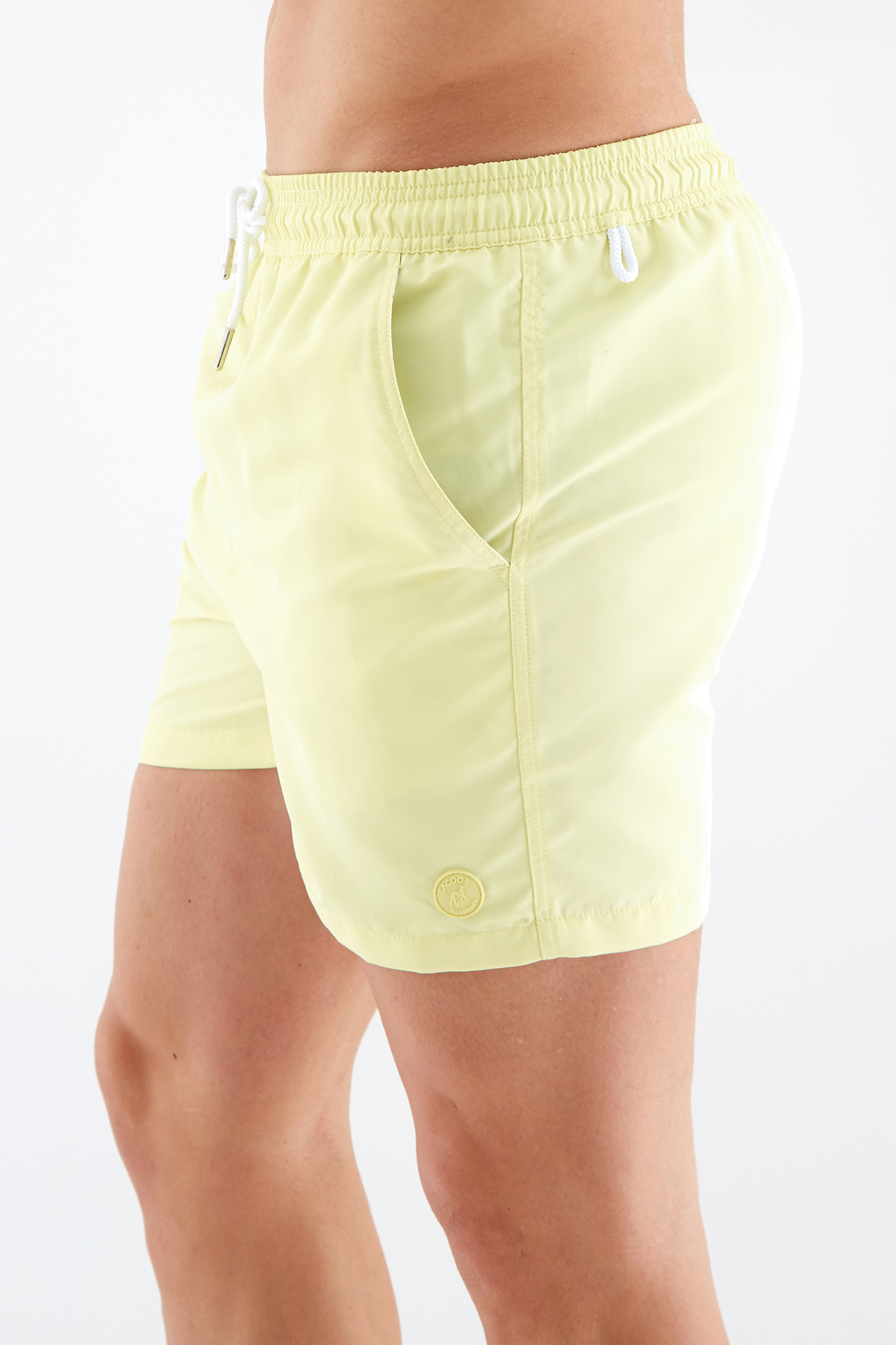 Beachwear Shorts Yellow Sport Man