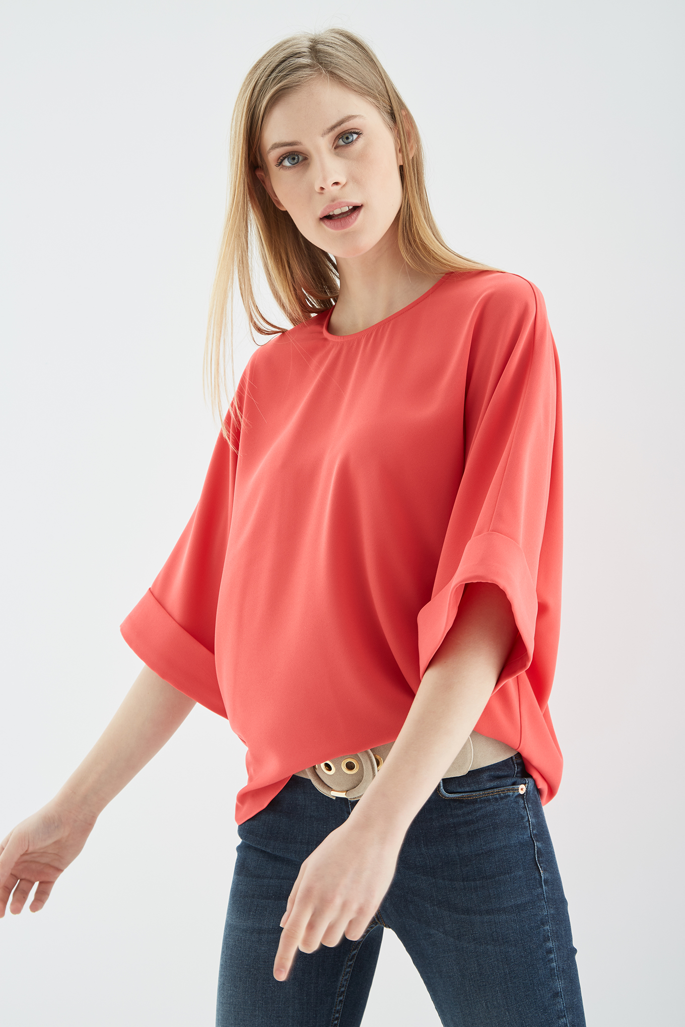 Blouse Salmon Fantasy Woman