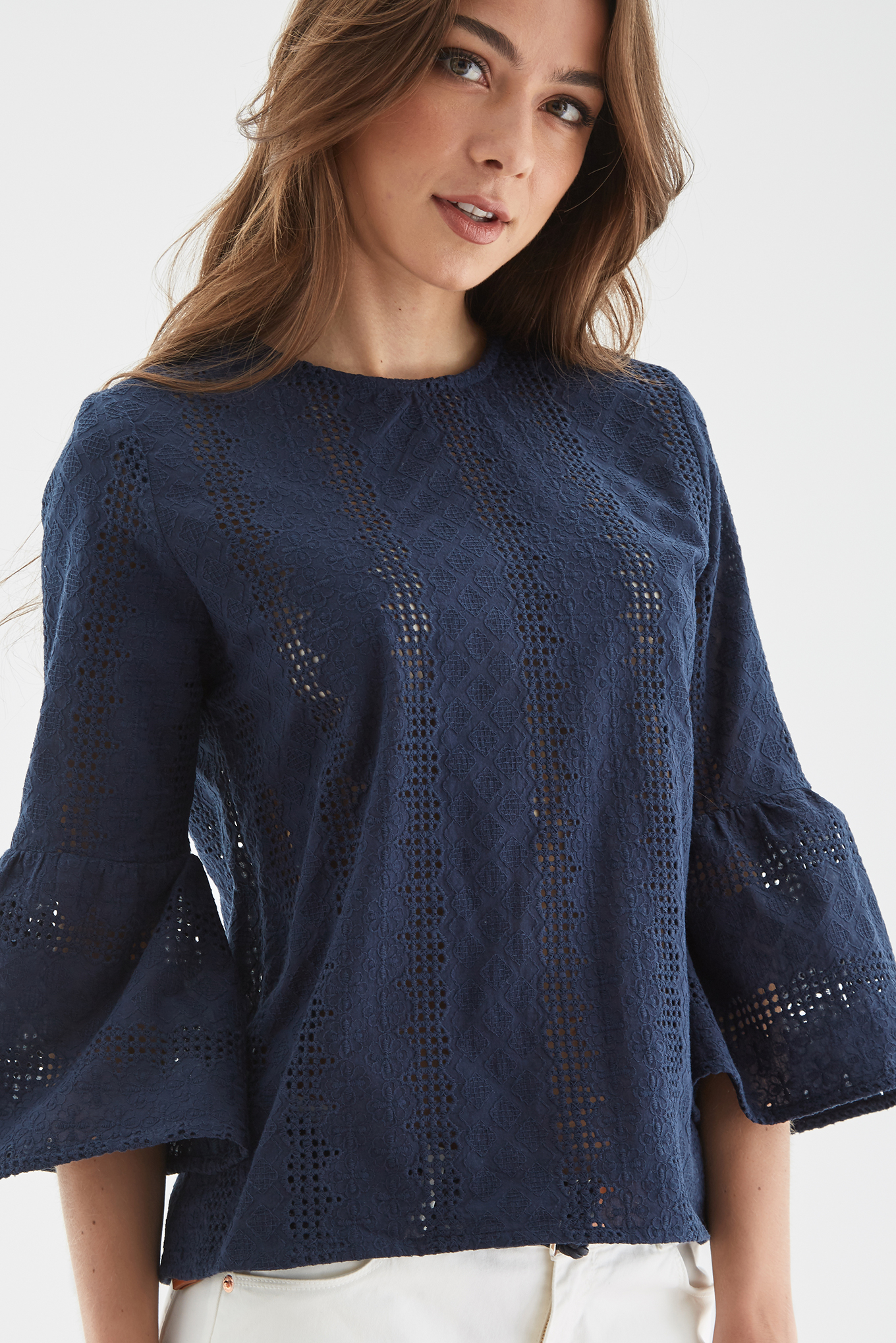 Blouse Dark Blue Fantasy Woman