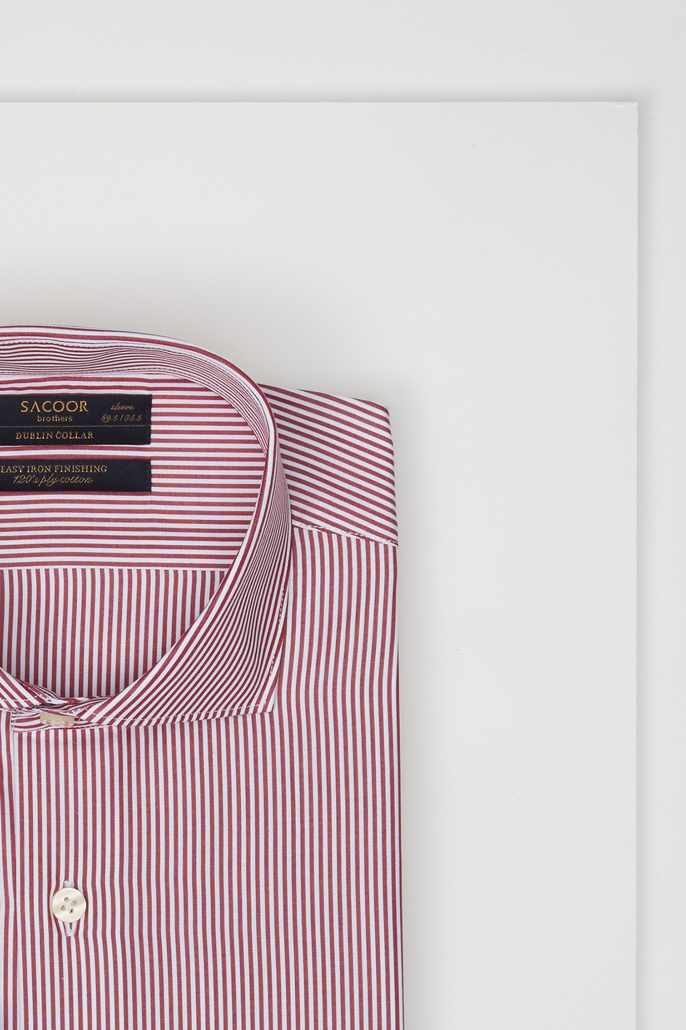 Shirt Red Classic Man