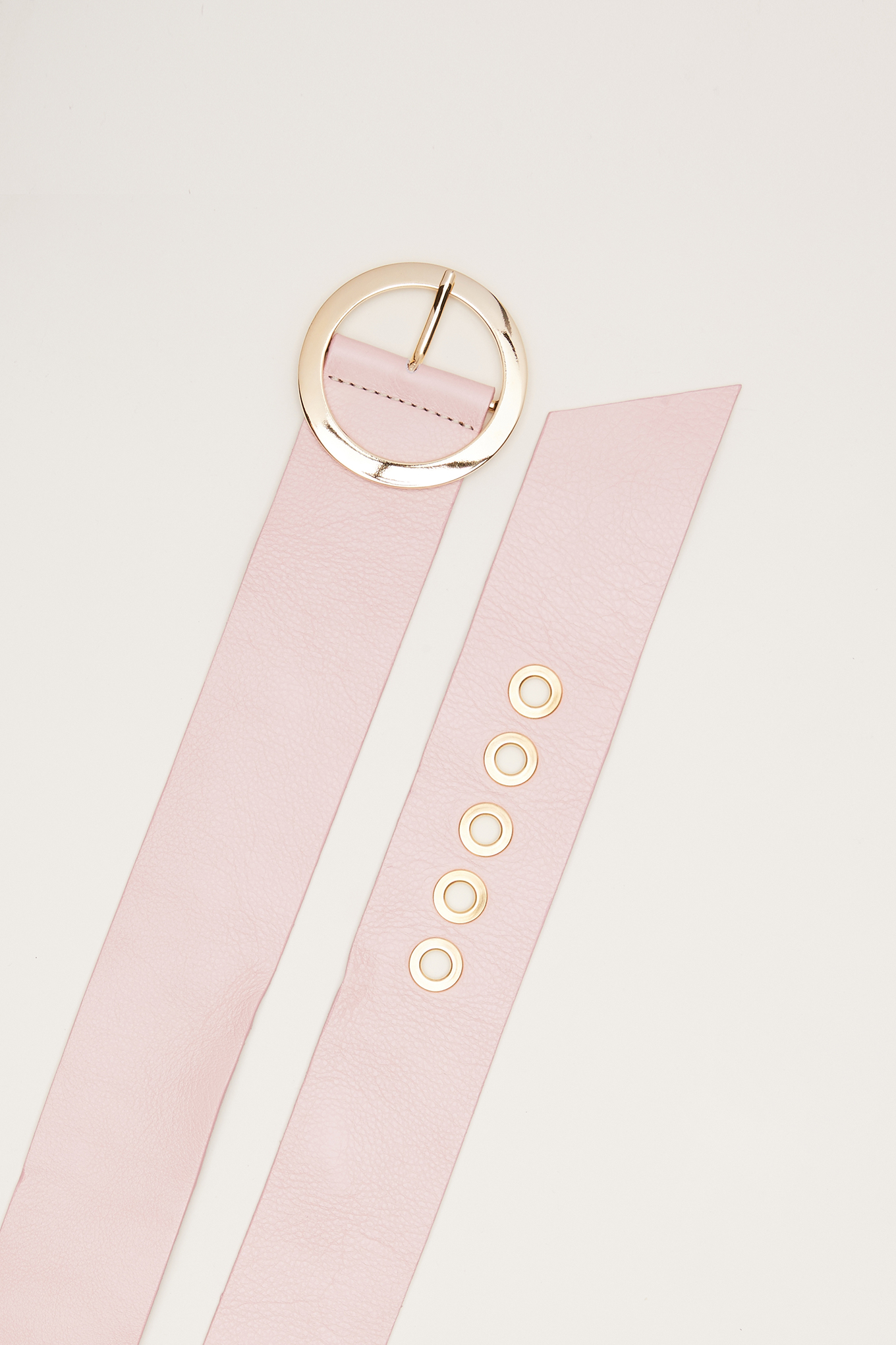 Belt Pale Pink Classic Woman