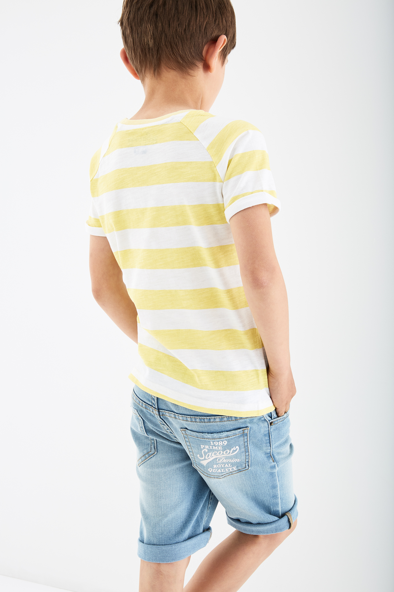 T-Shirt Light Yellow Sport Boy