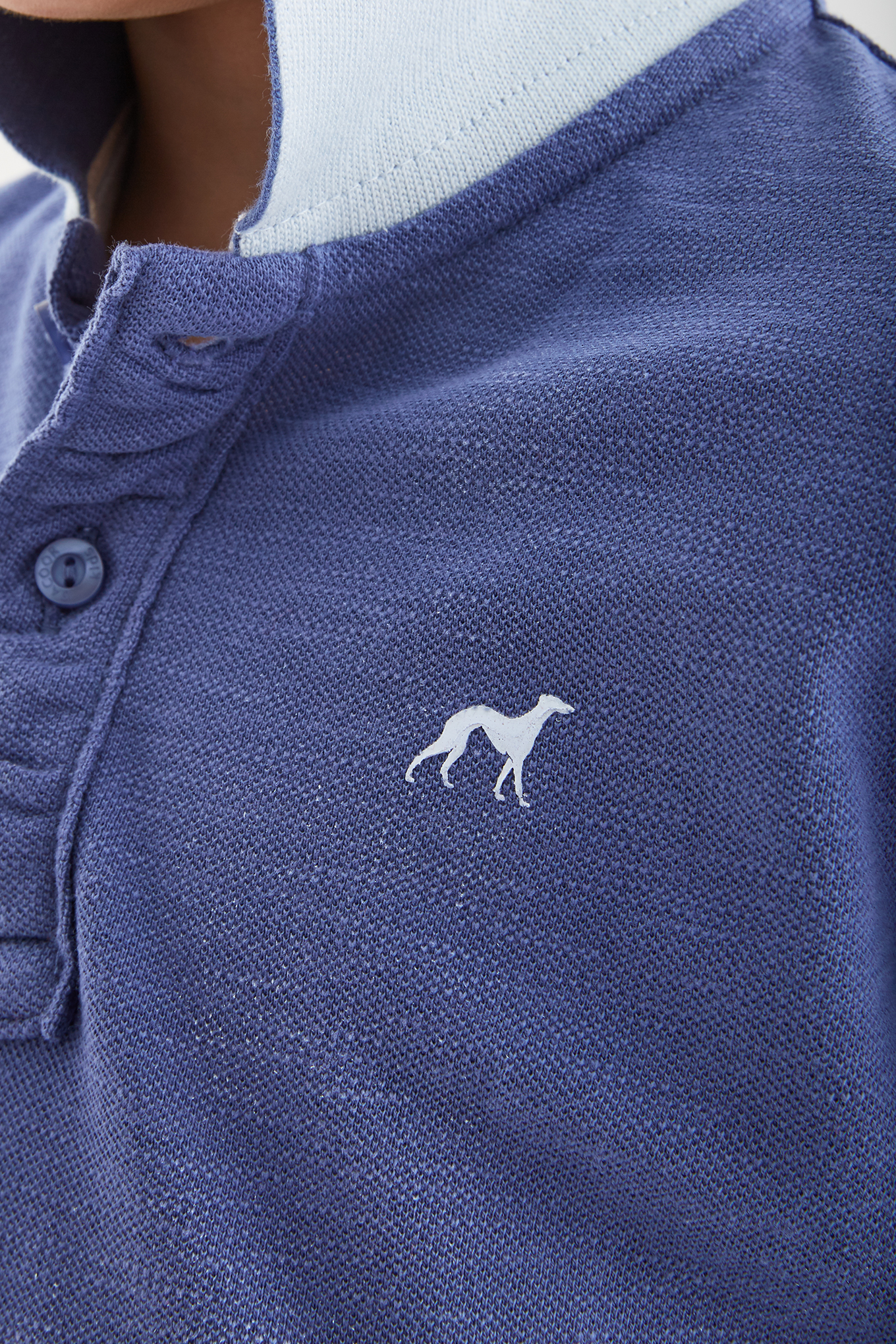 Polo Piquet Blue Sport Boy