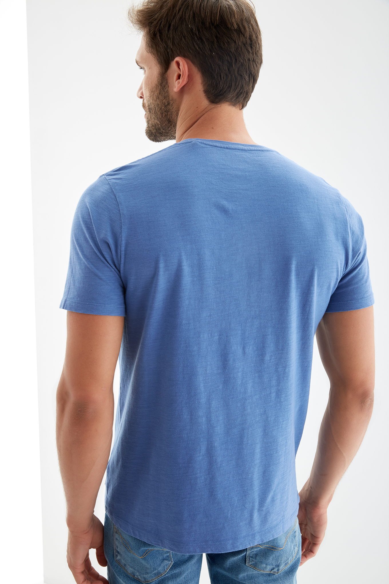 T-Shirt Blue Sport Man