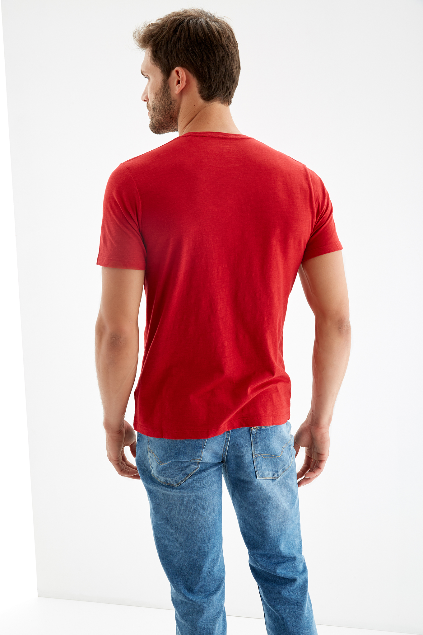 T-Shirt Red Sport Man