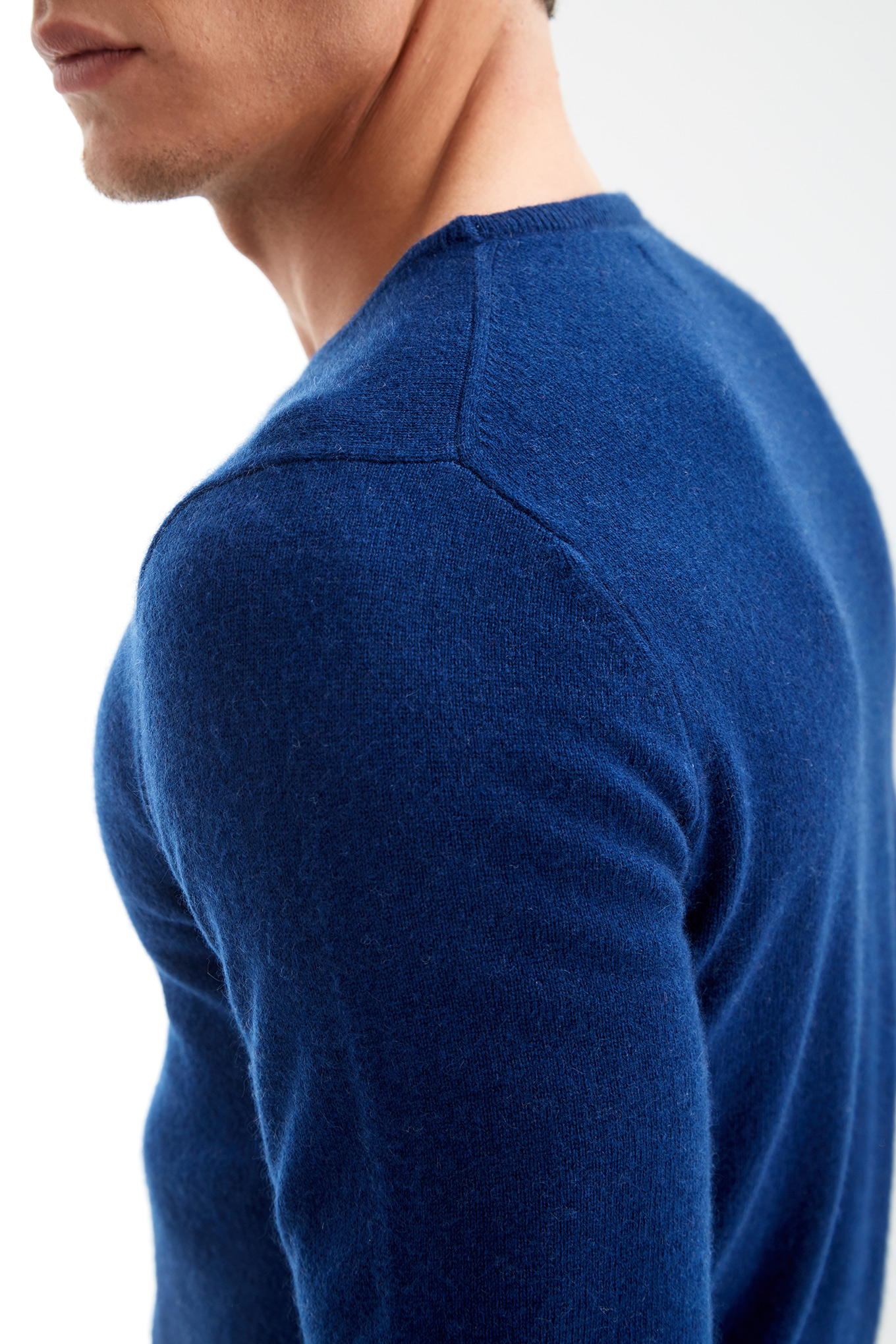 Sweater Royal Blue Casual Man