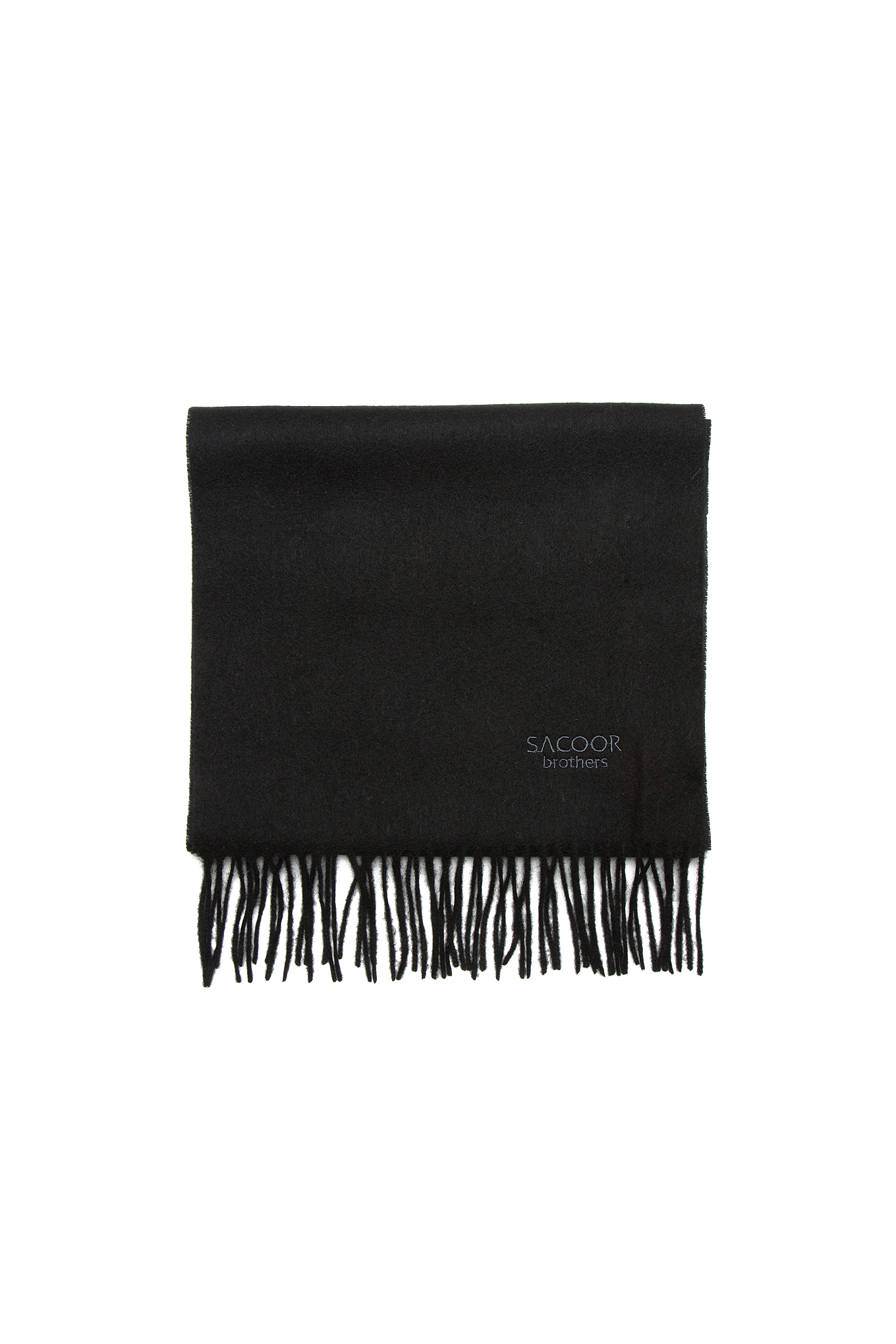 Scarf Black Casual Man